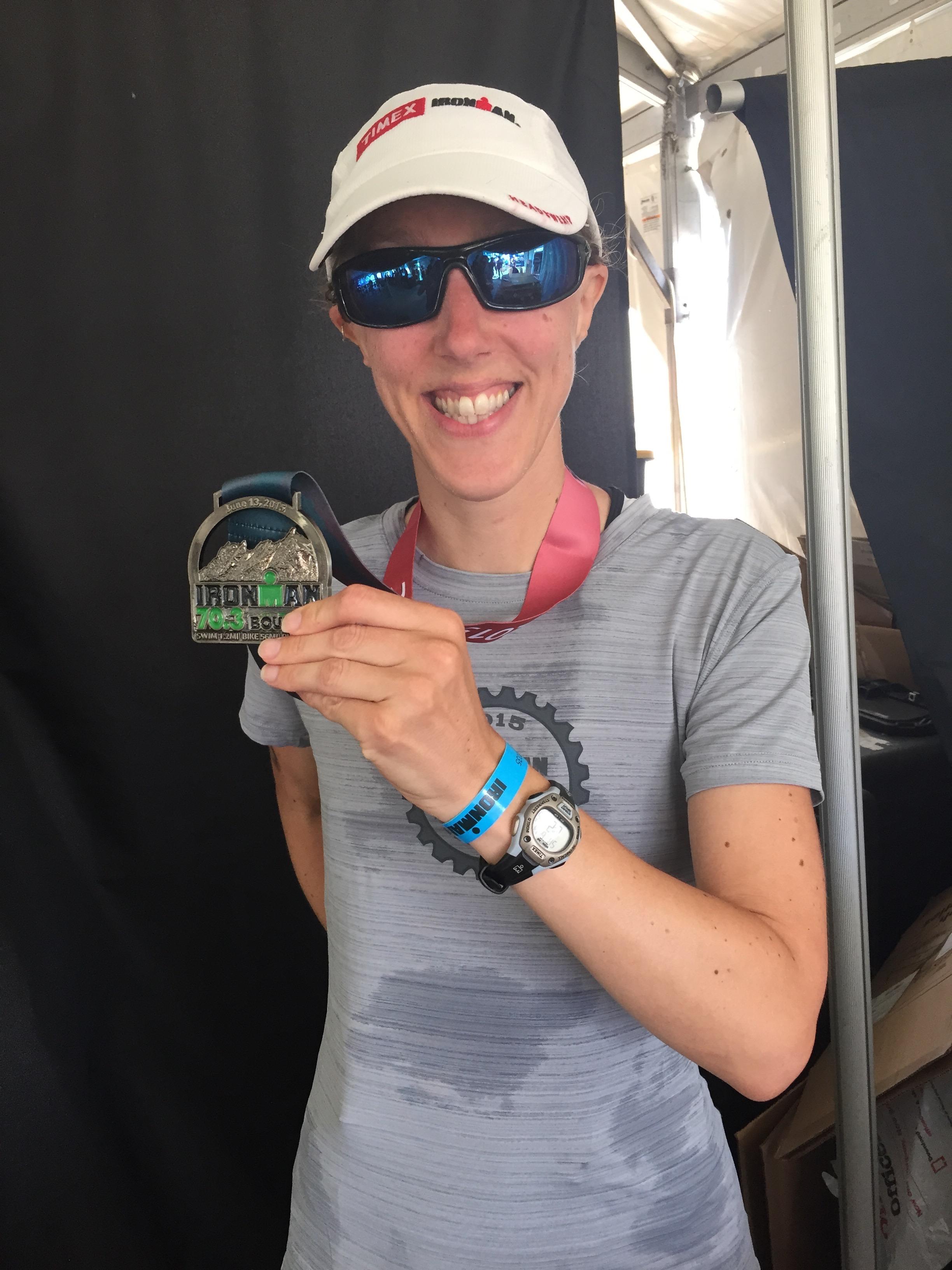 Boulder 70.3 Triathlon Finished!