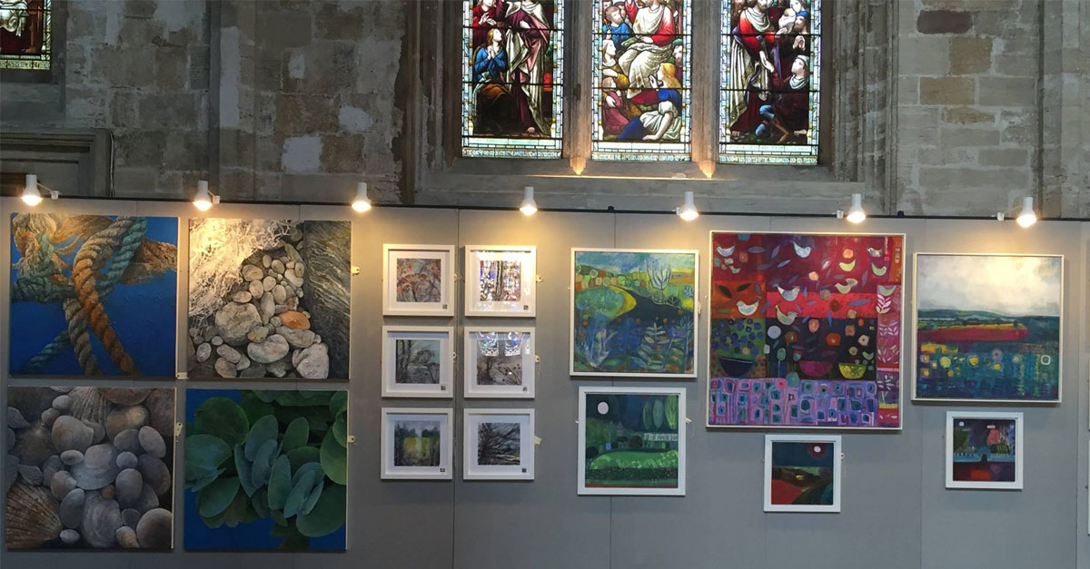 The Great North Art Show - Ripon Cathedral.