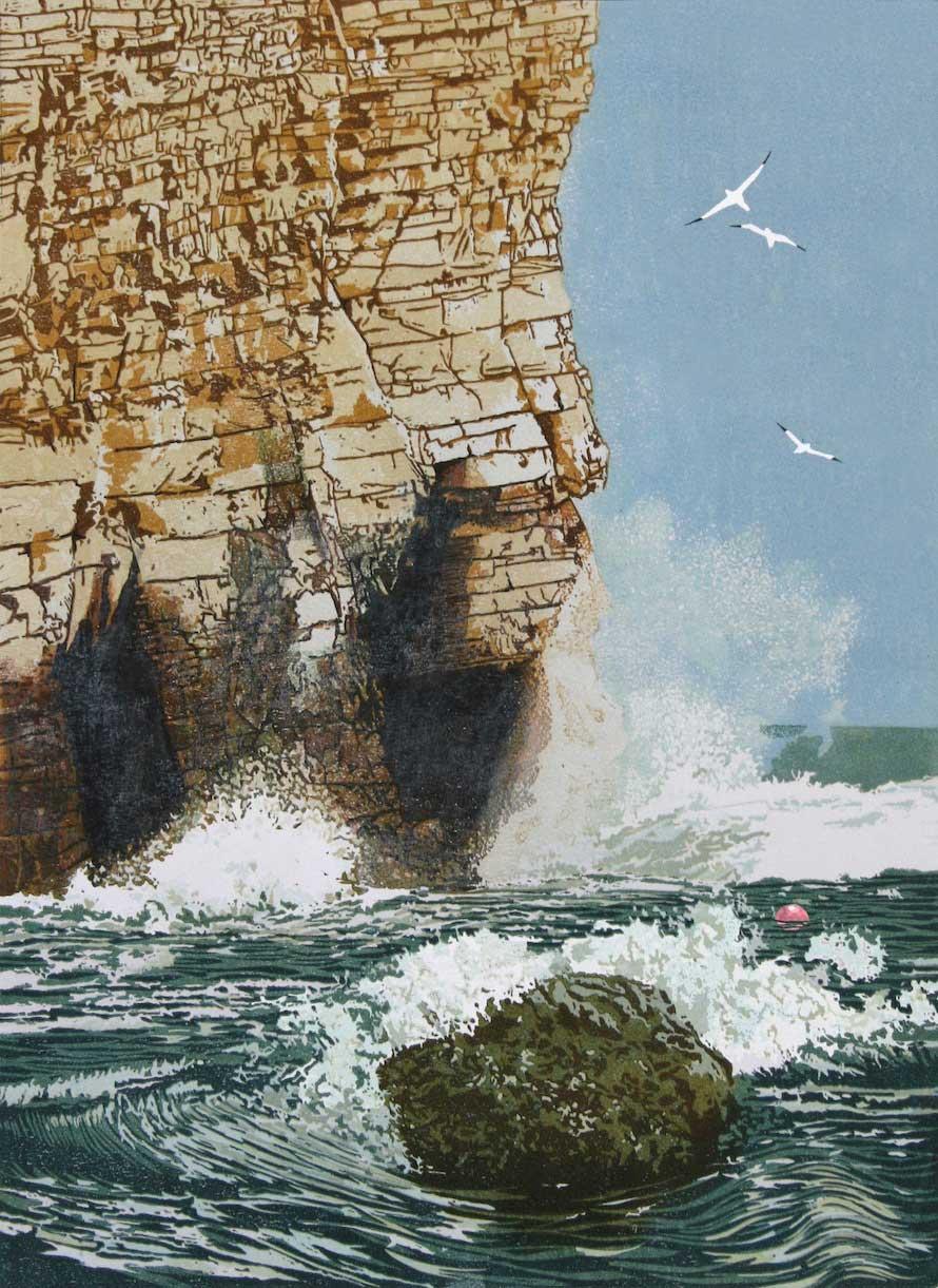 Cliffs at North Bay, Flamborough