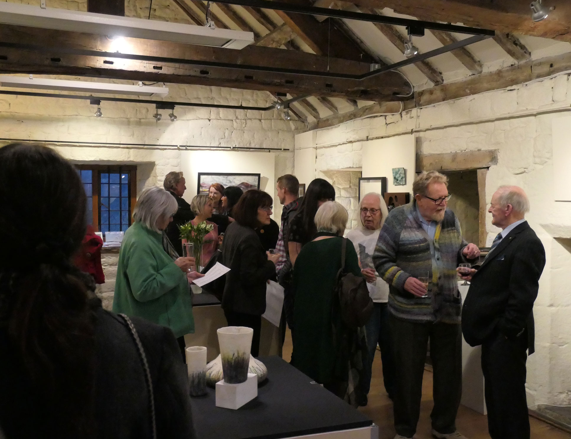 The Ilkley Arts Exhibition Opening Party.