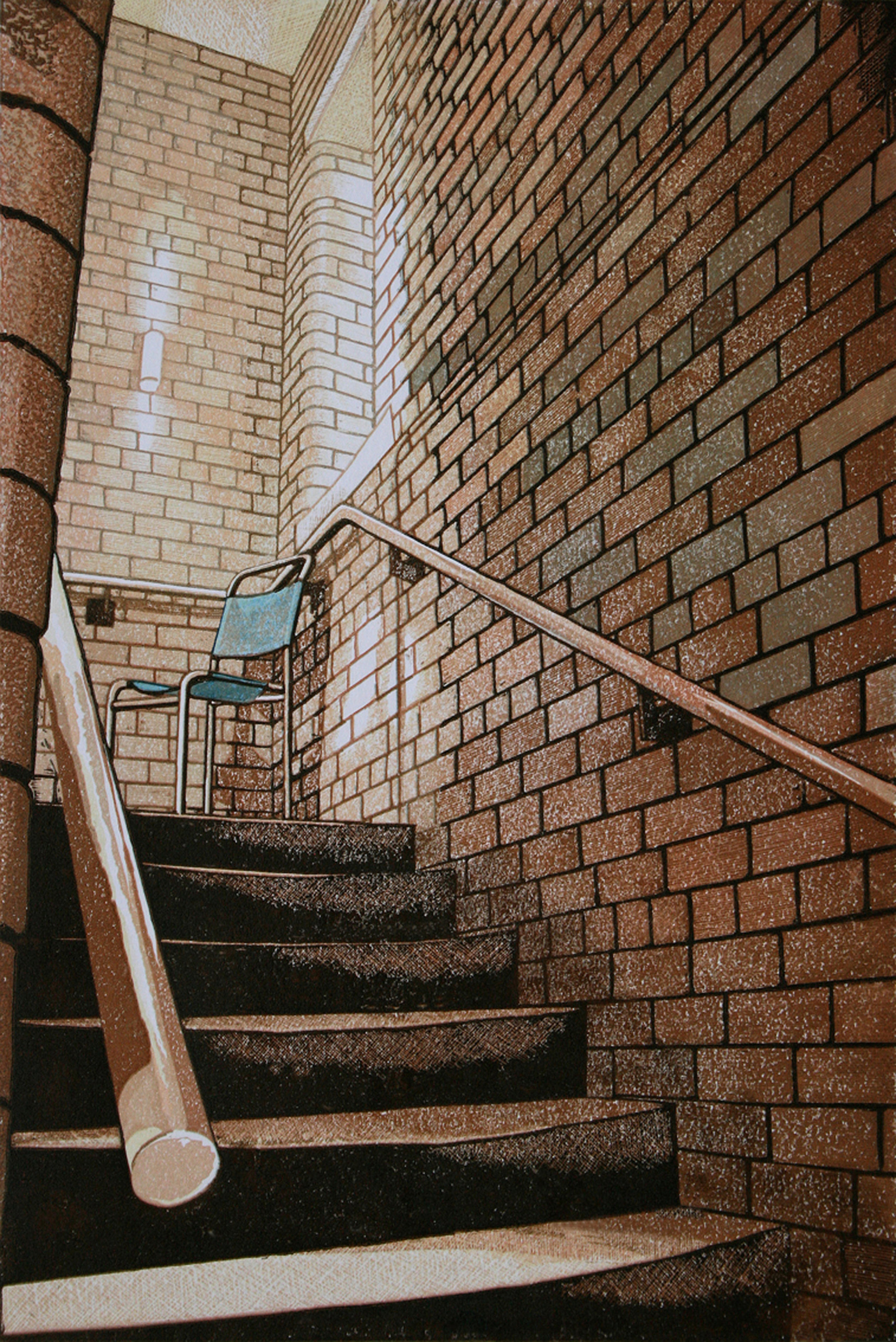 'Chair on the Stairs' - Sunnybank Mills.jpg