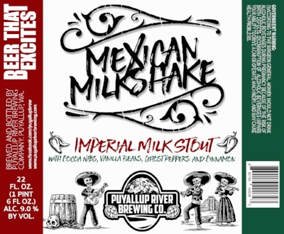 Mexican Milkshake Imperial Milk Stout — Puyallup River Brewing