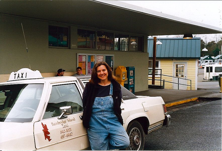 Jewel Fraser Clearwater and her cab