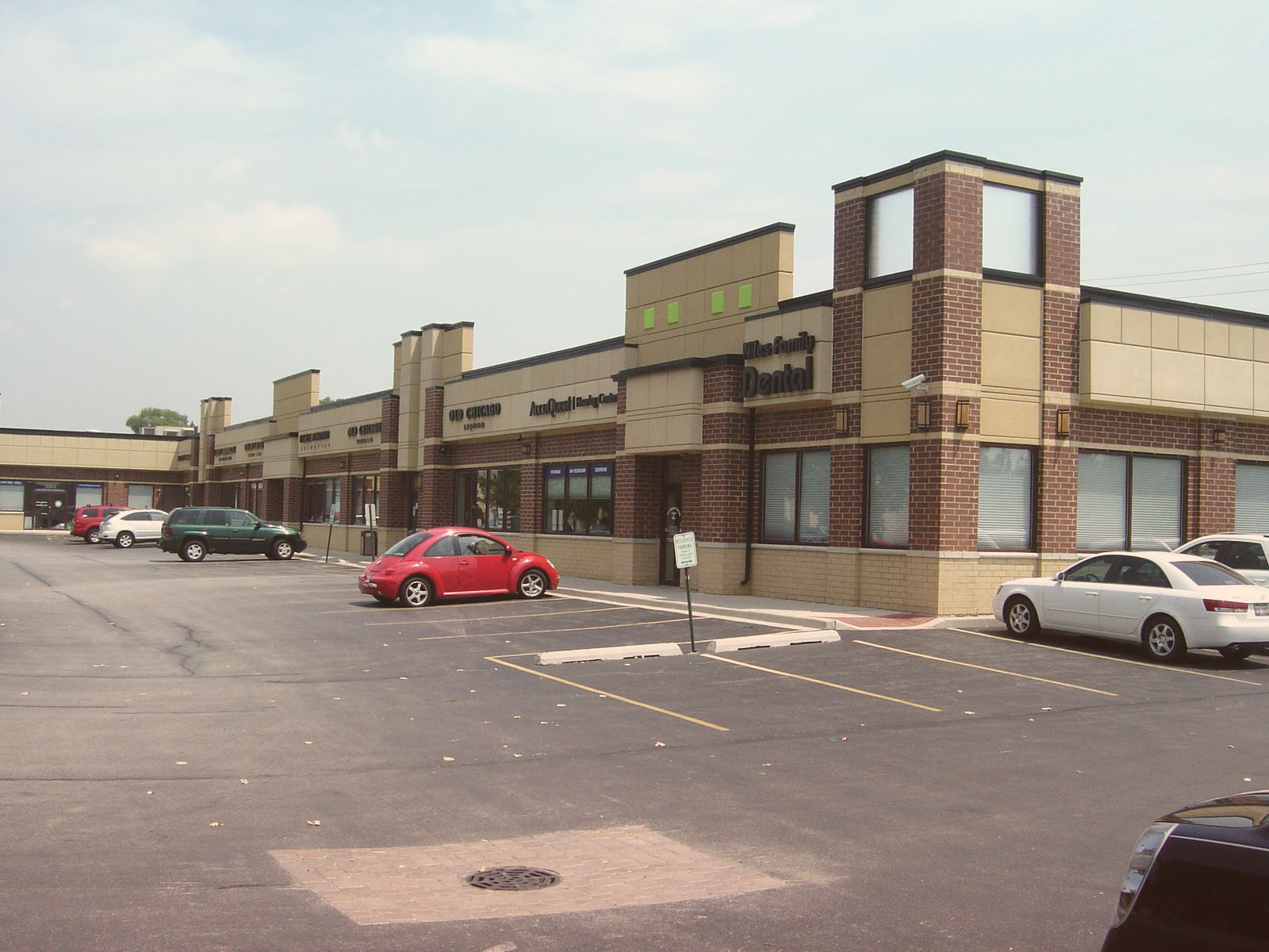 Shops of Niles stormwater management plan