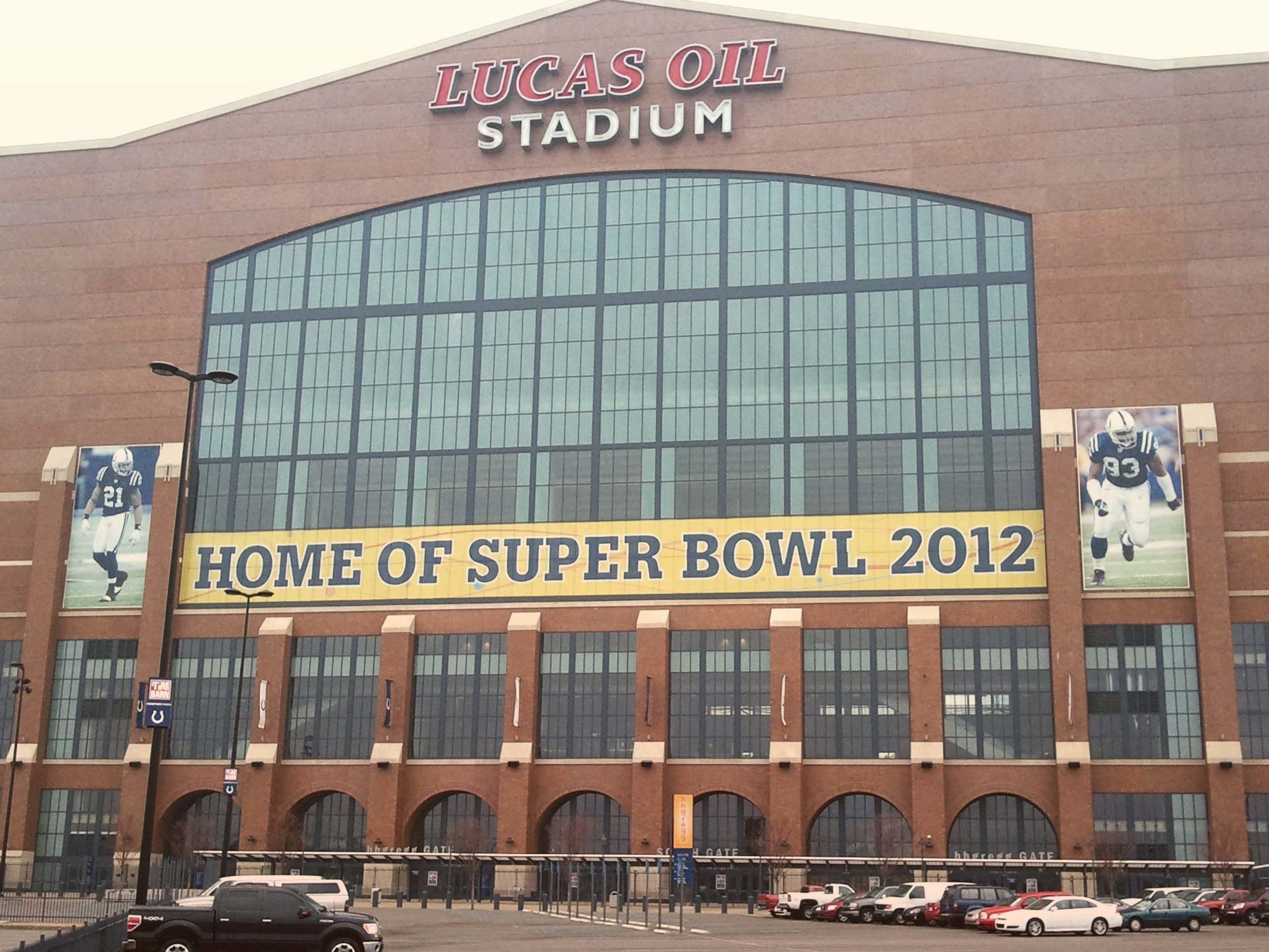 Lucas Oil Home of Super Bowl 2012