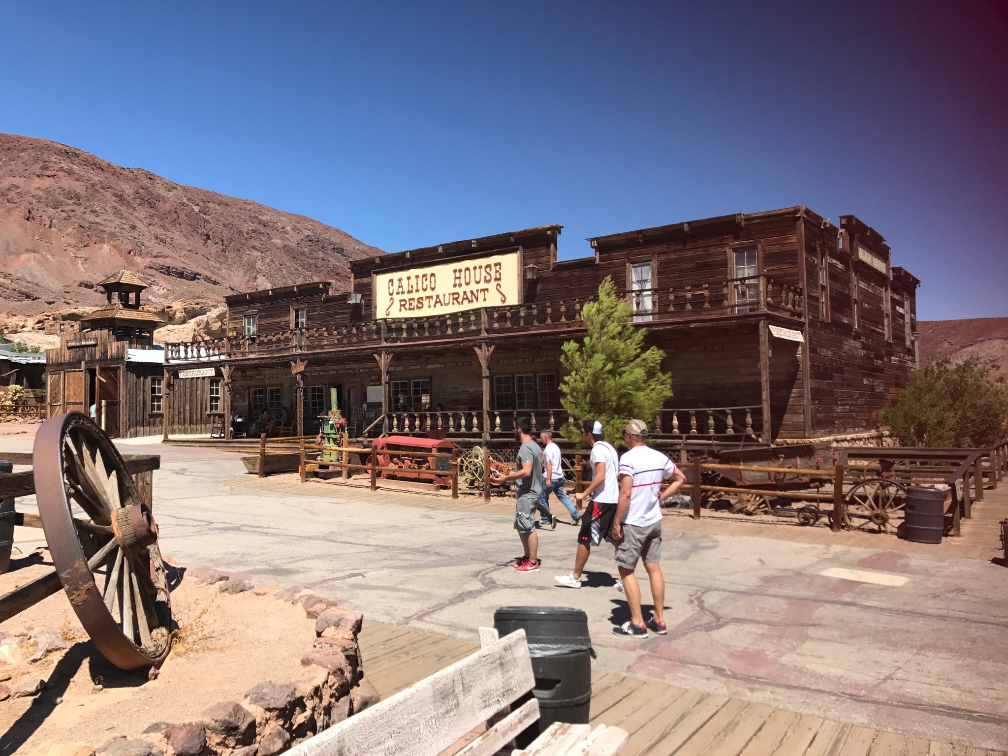 Jose Rodriguez visited the ghost town of Calico located in Southern California.