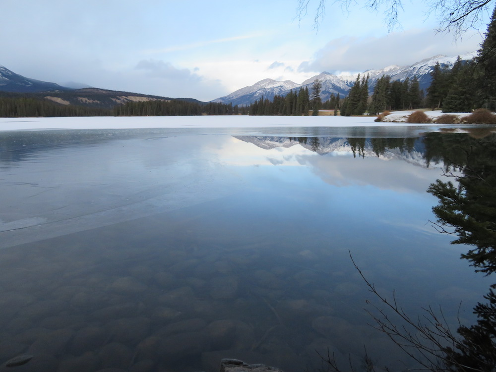 Jasper National Park during the day