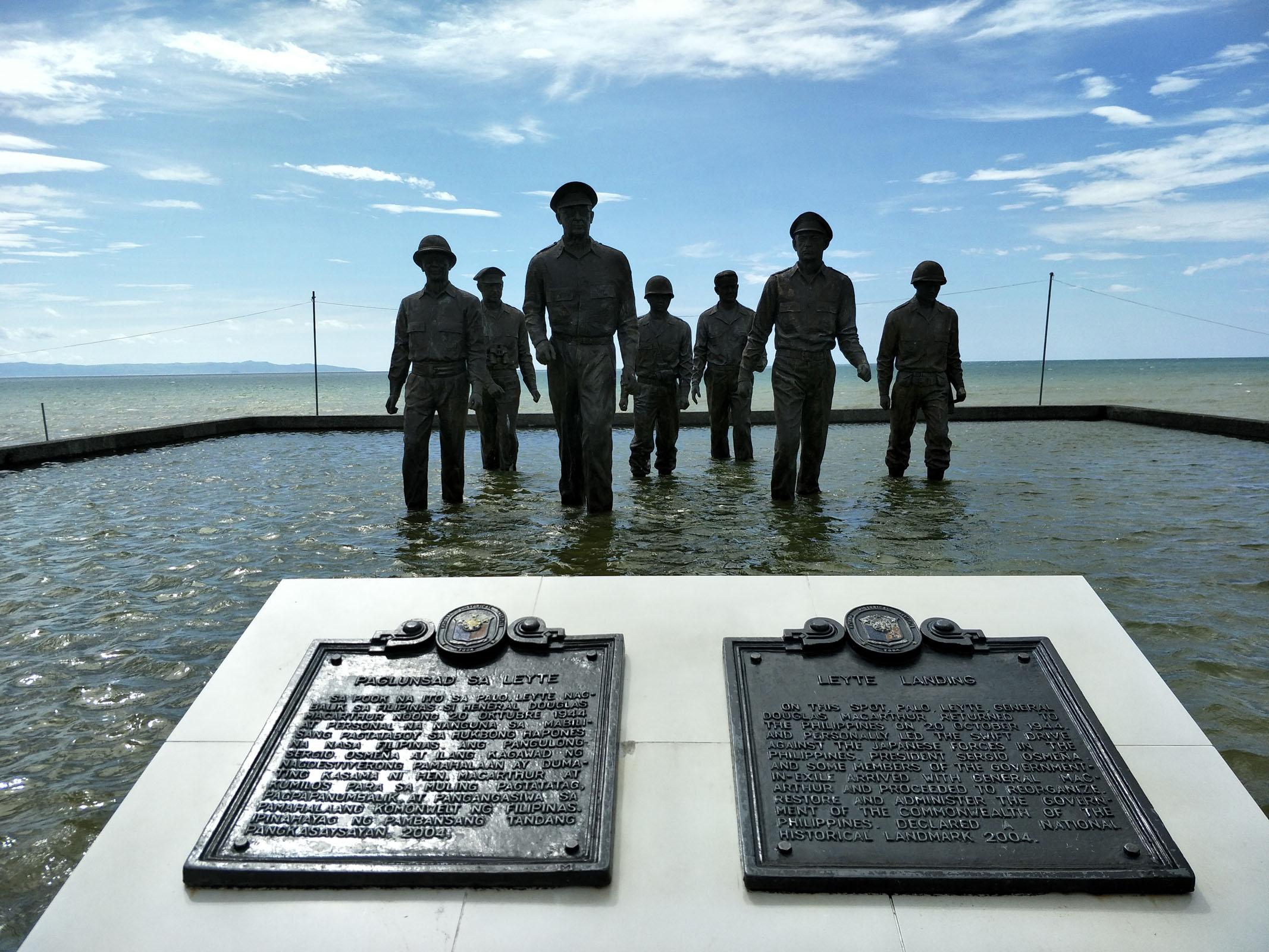 Randolf Alcober - MacArthur's Landing - Tacloban City, Philippines.jpg