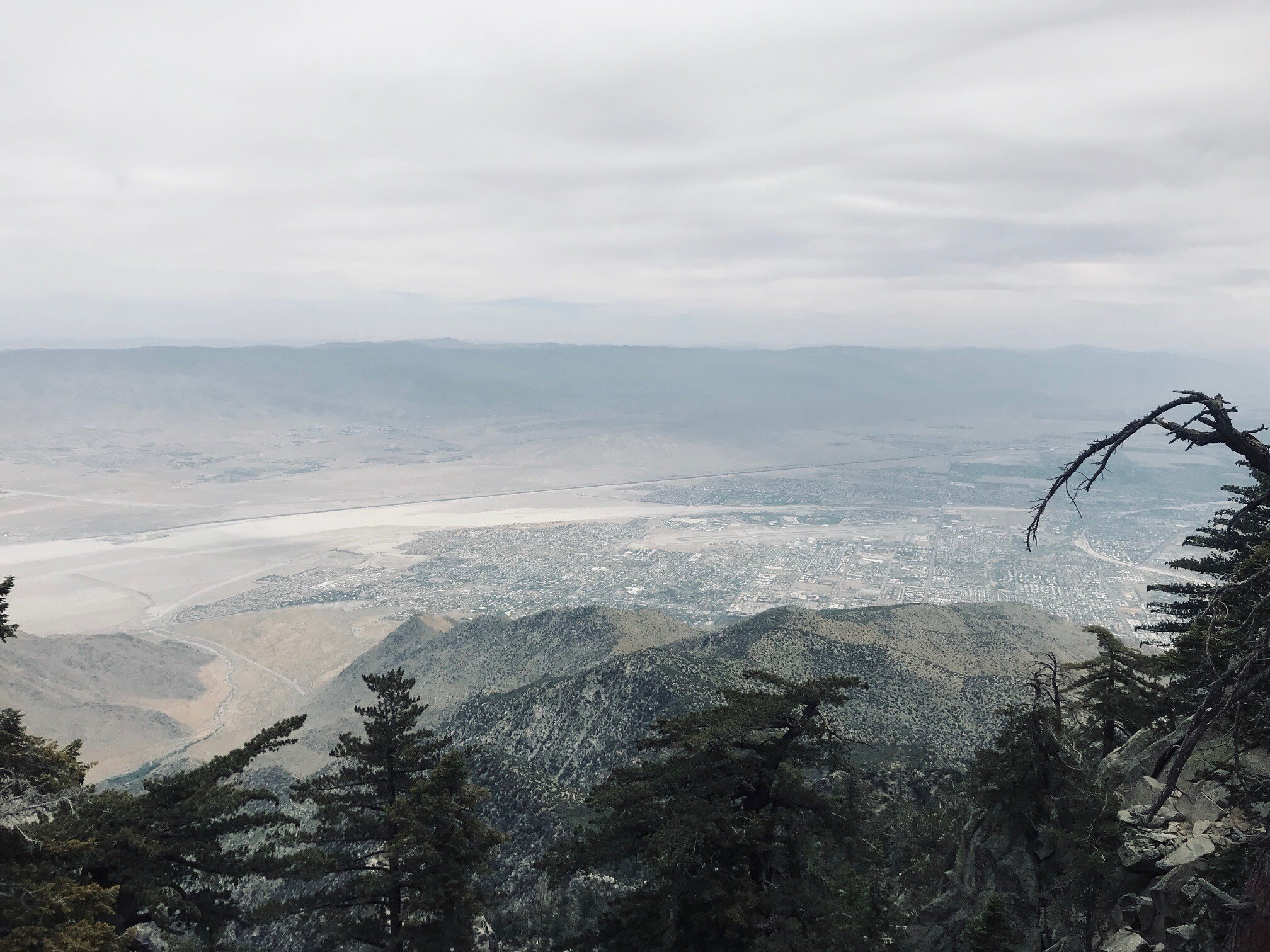 The view from Mt. San Jacinto