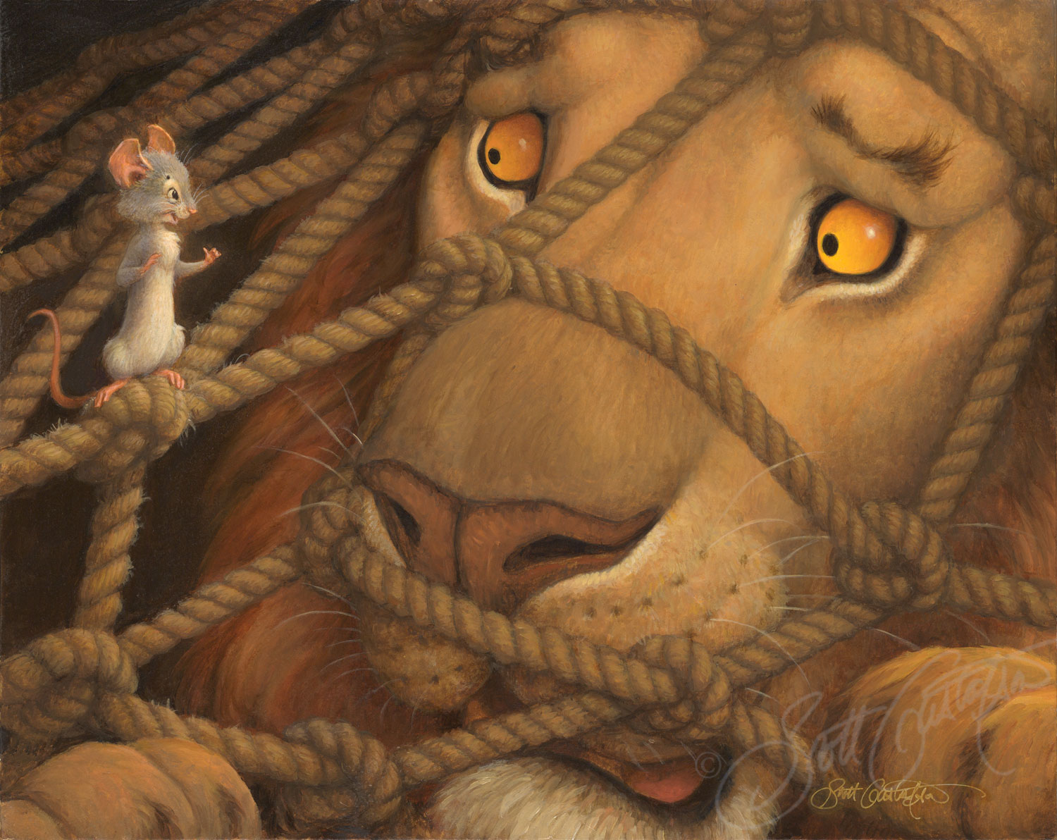 Copy of The Lion and the Mouse