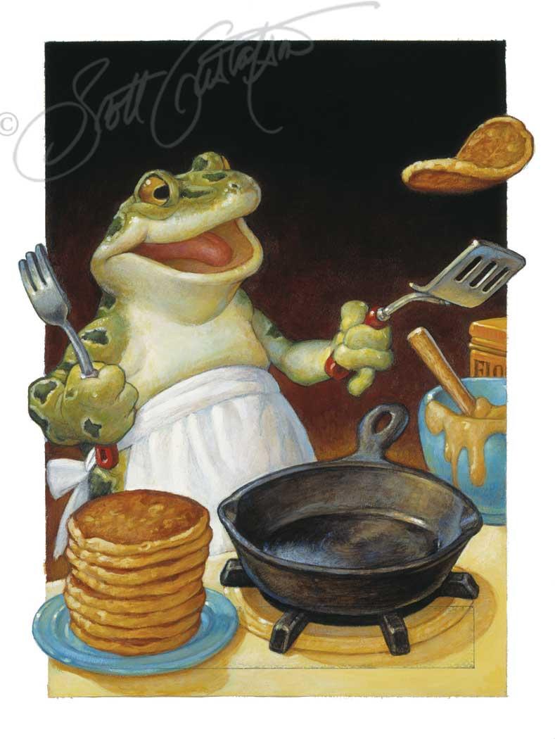 Frog Fixed Flap-Jacks