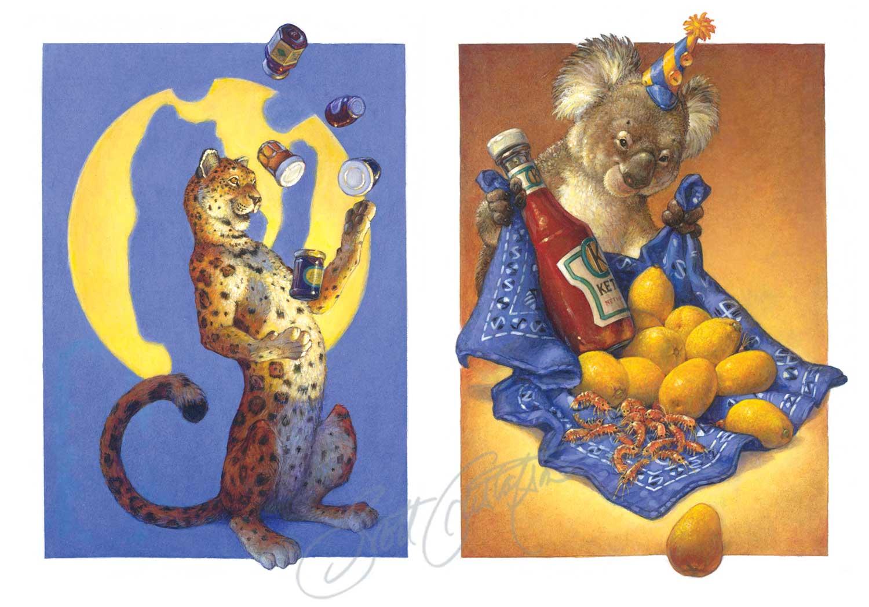 Jaguar and Koala