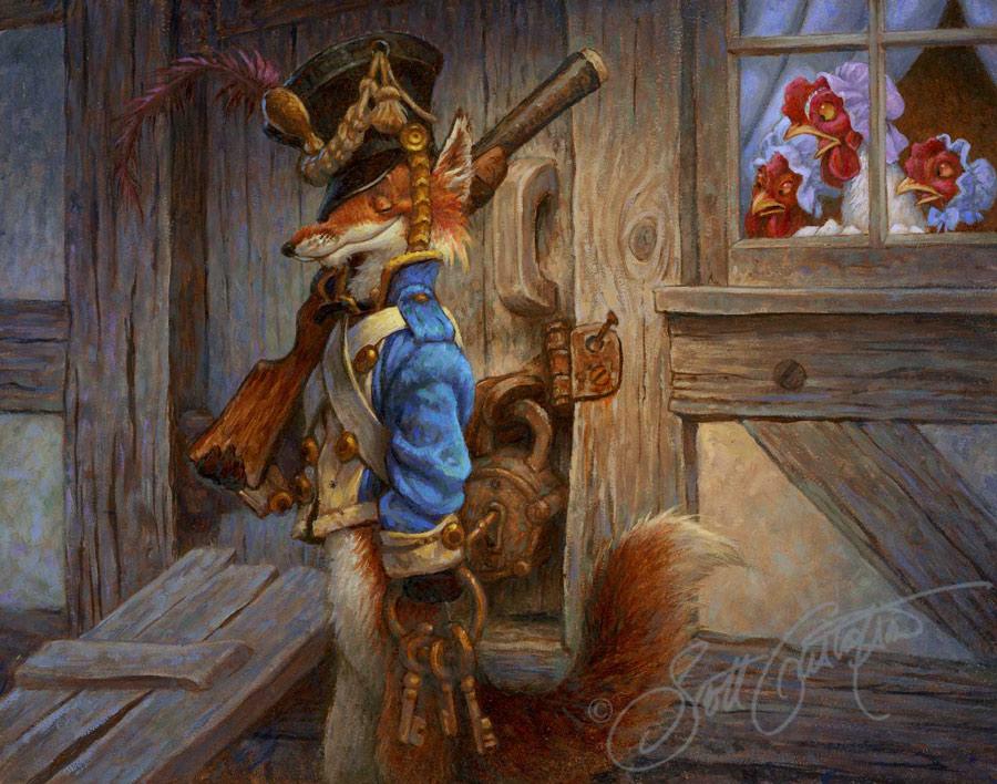 The Fox Guarding the HenHouse