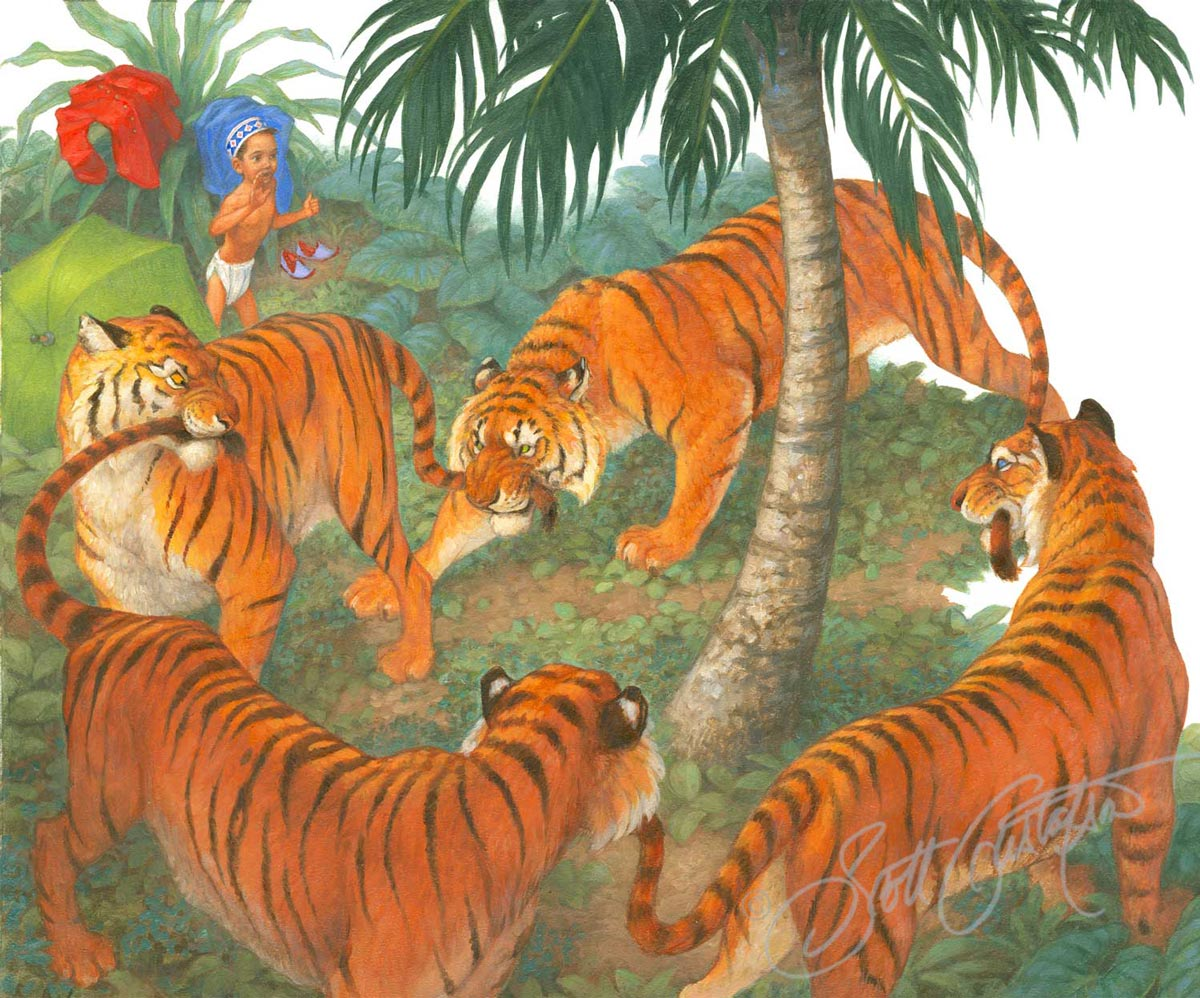 Sambha and the Tigers
