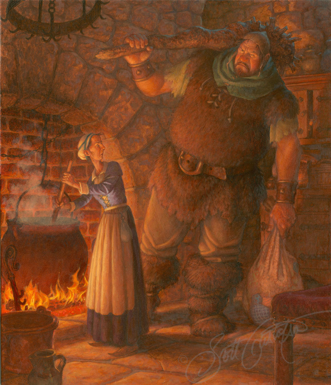 The Giant and his Wife