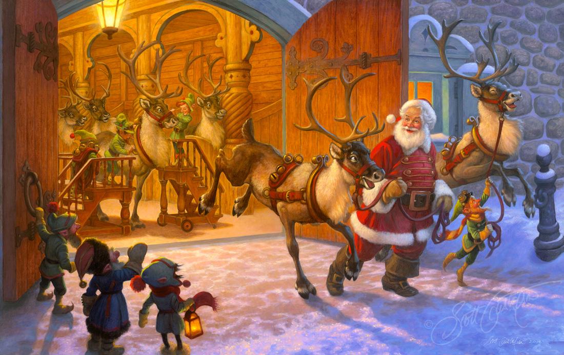 Christmas Eve and Raring to Go!
