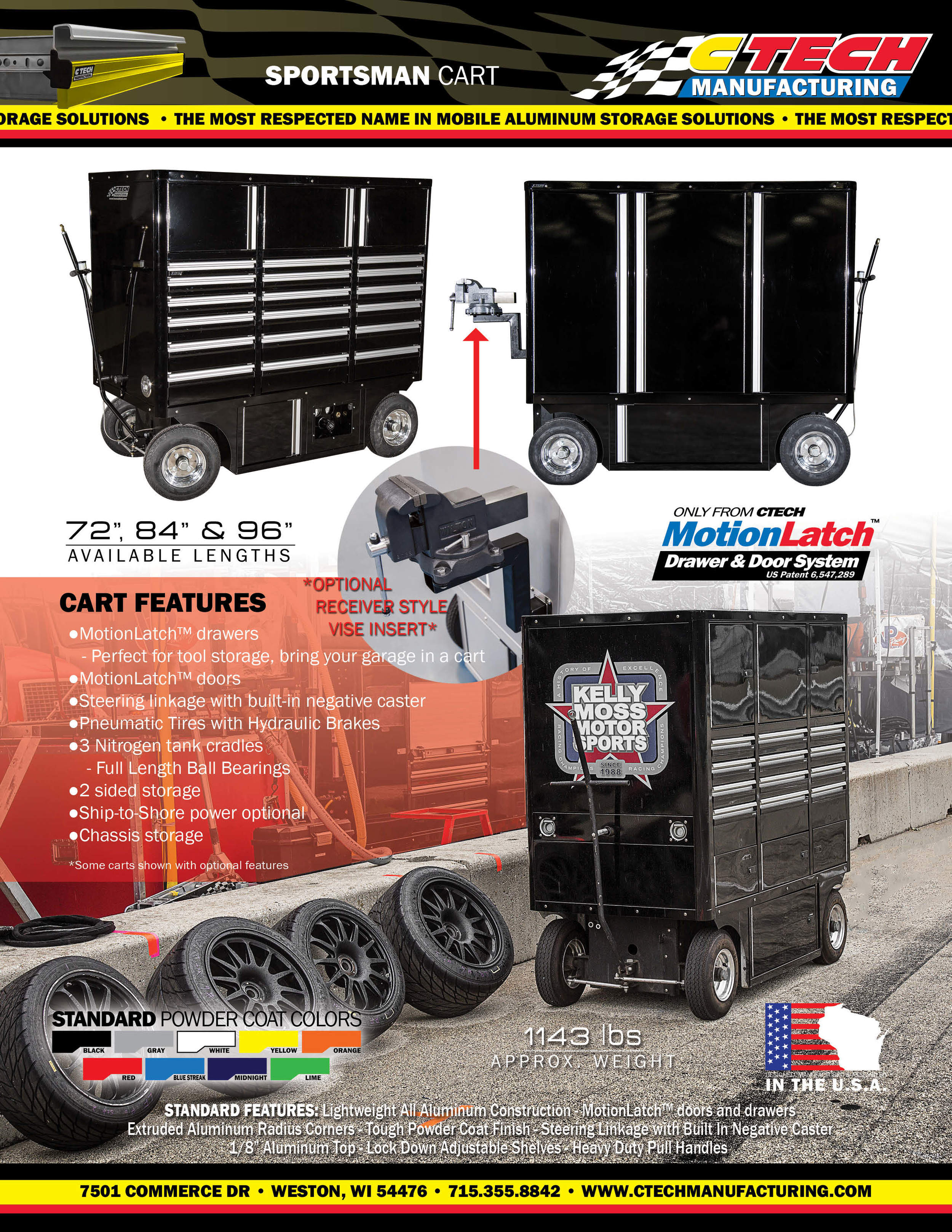 SPORTSMAN CART