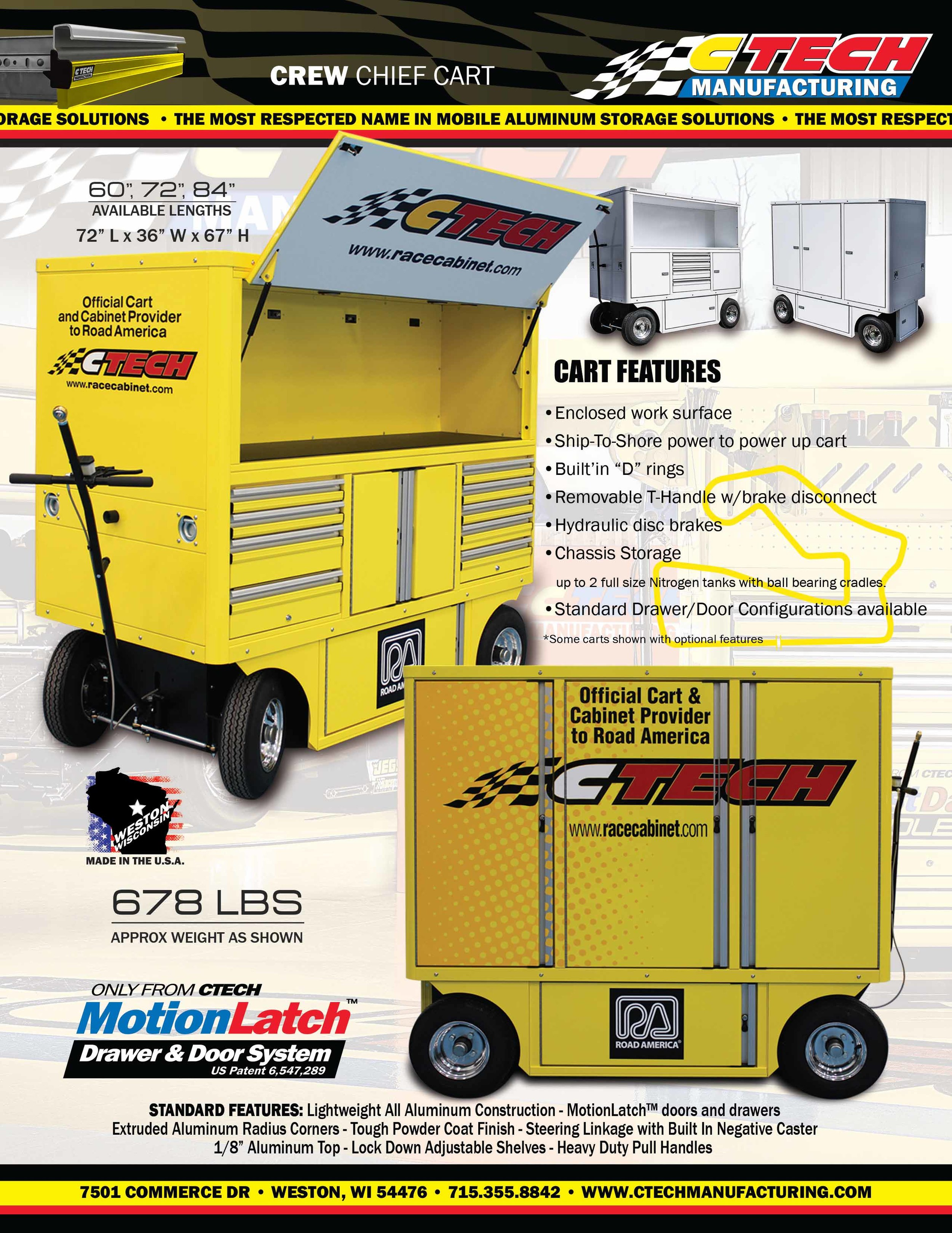 CREW CHIEF CART