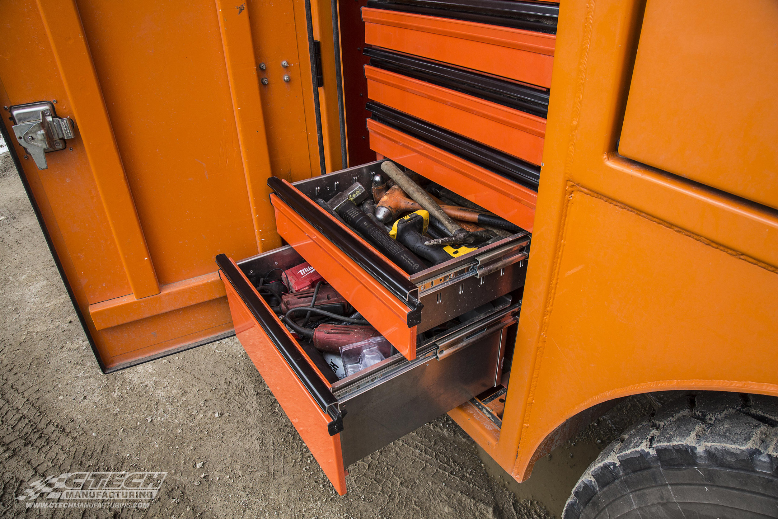 With a 250lb standard weight rating, CTech Tool Drawers are tough enough to handle everything you can throw into them, literally!