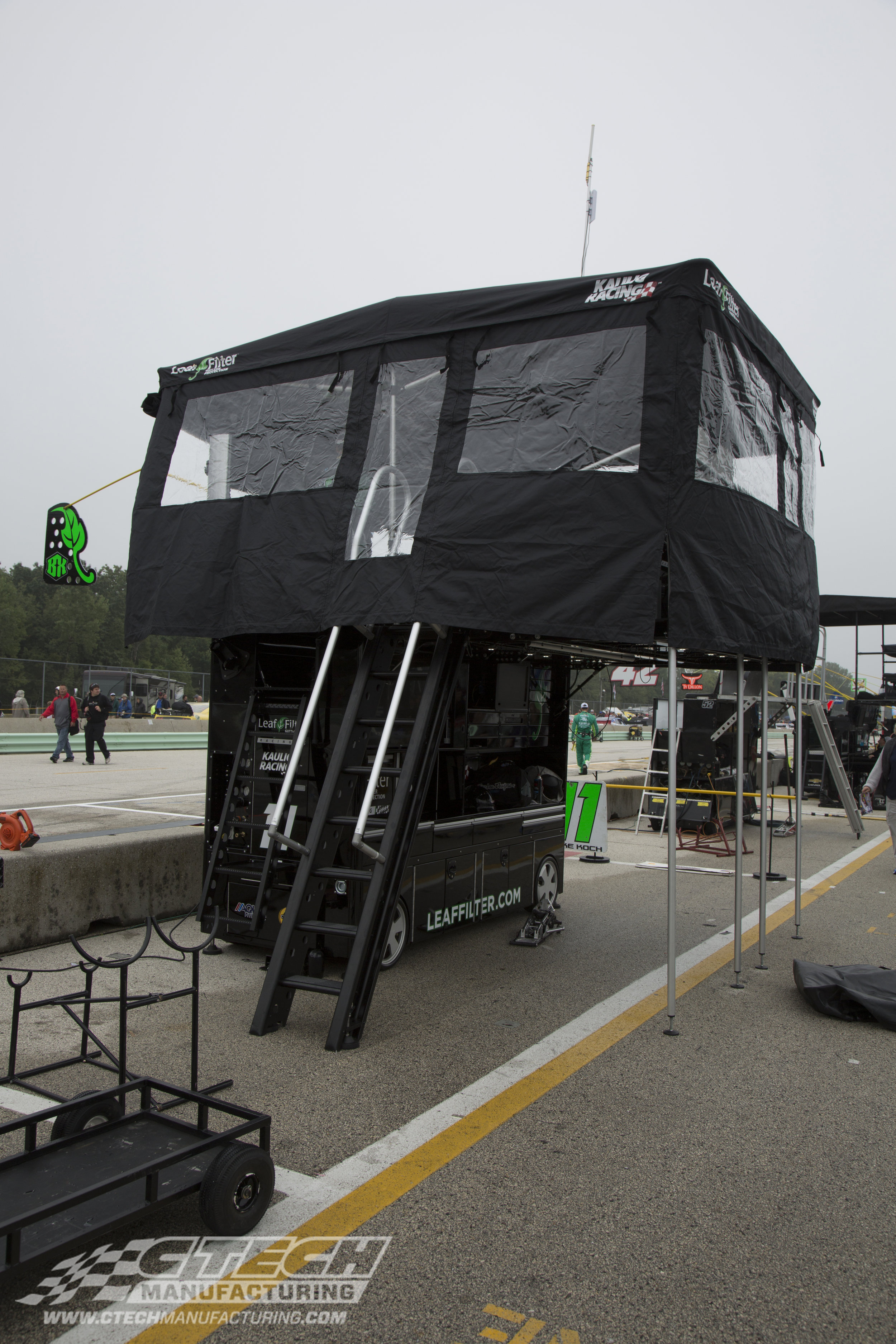 CTECH NASCAR Ultra Cart Pit Box with Canopy