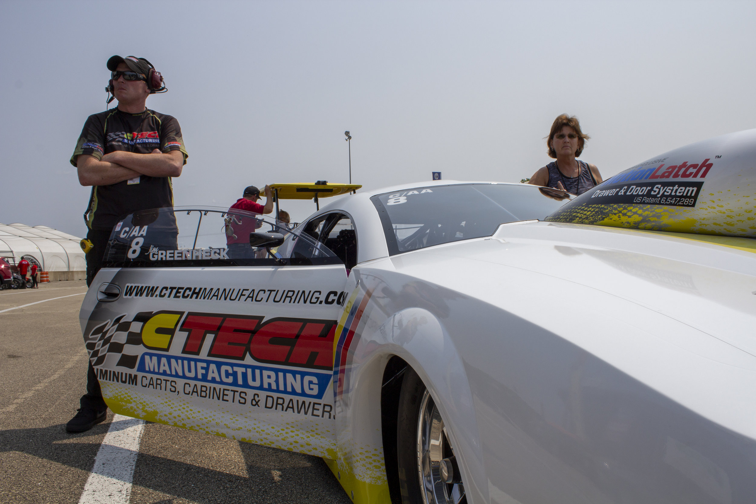 CTech Drag Racing In The Staging Lanes