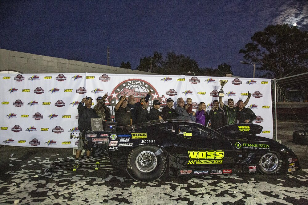 Dillon Voss In Victory Lane
