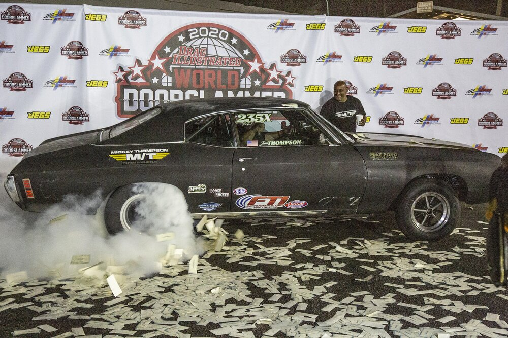 Burnout in Winners Circle