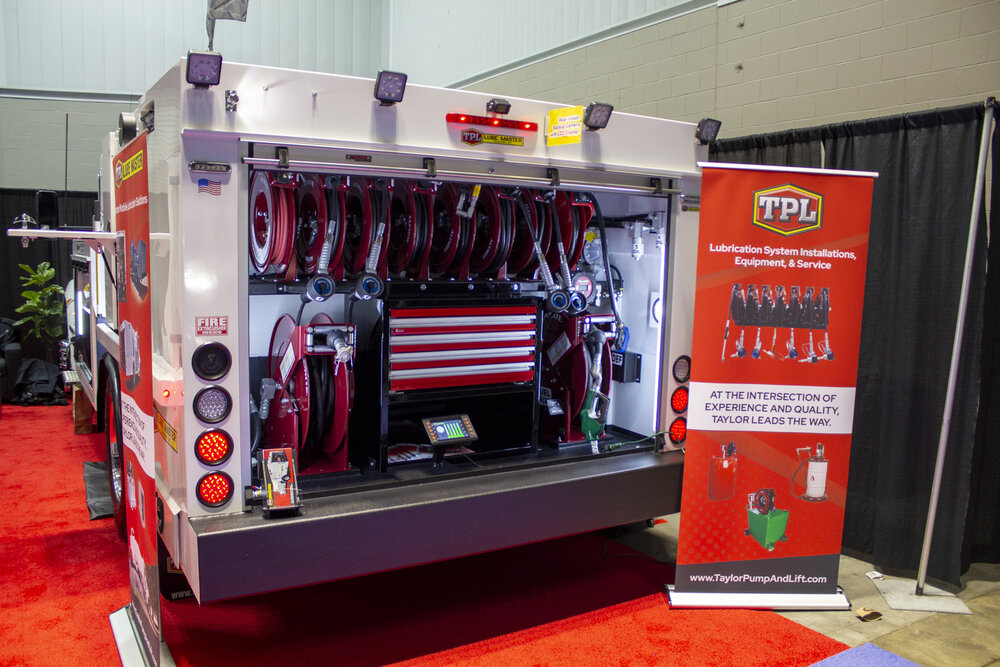 Taylor Pump Lube Truck With Drawers