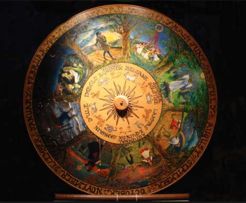 Ancient Wheel of the Year