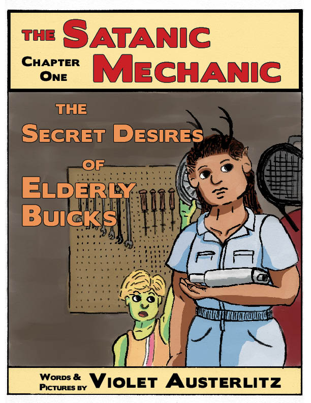 Cover of  The Secret Desires of Elderly Buicks   mixed media