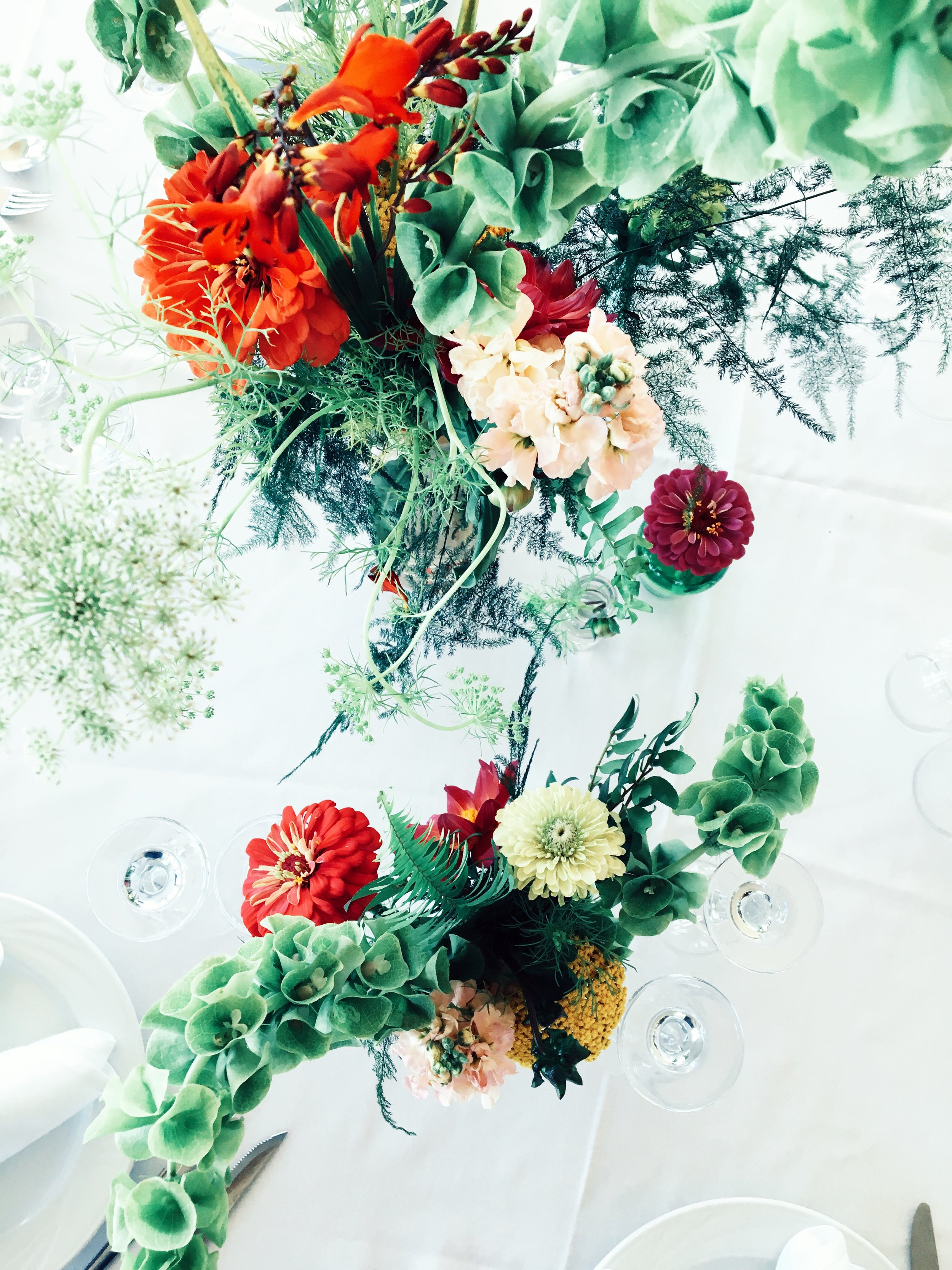 Floral Styling - Blooms can elevate the atmosphere too!