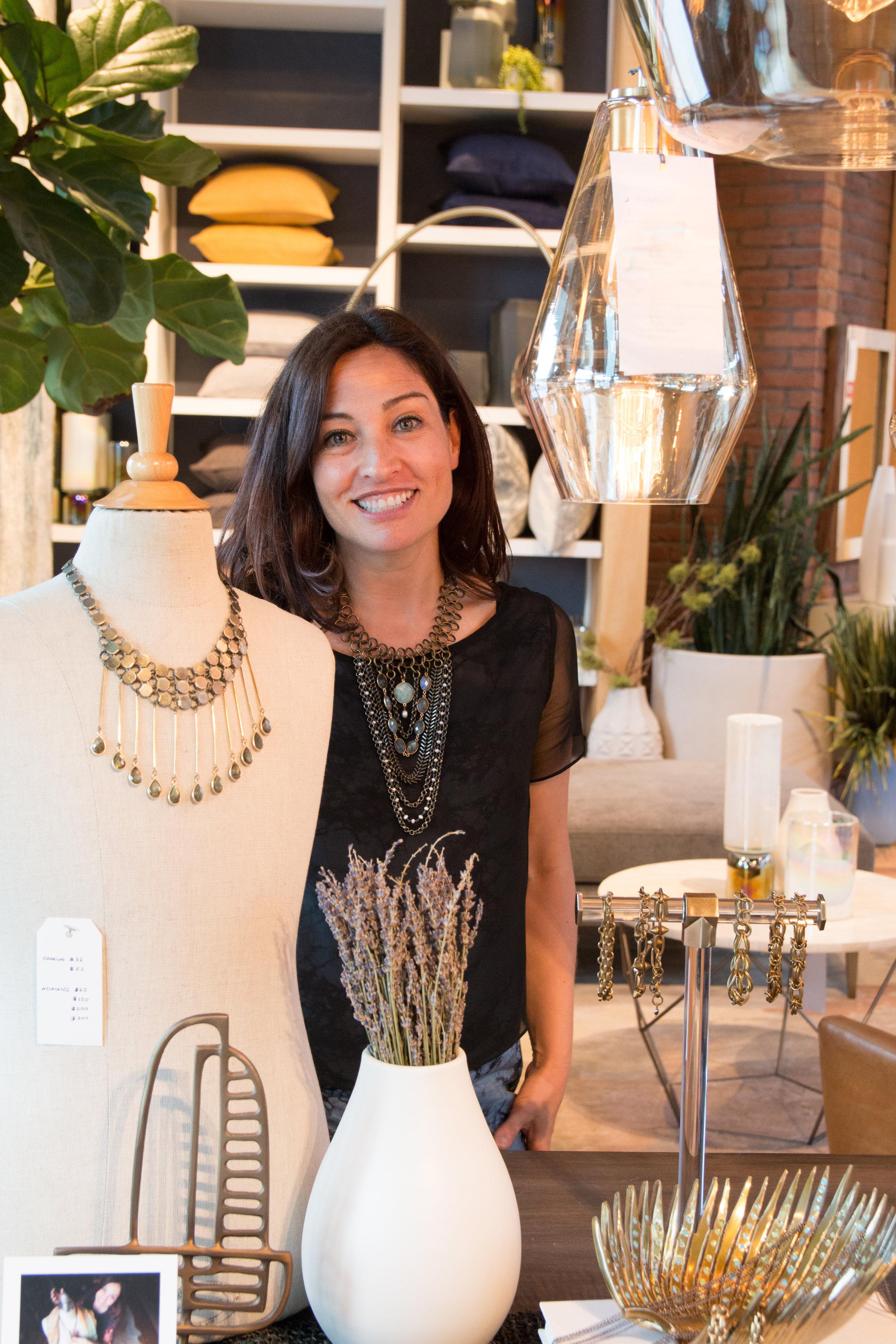 Jewelry Designer Tania Rodamilans