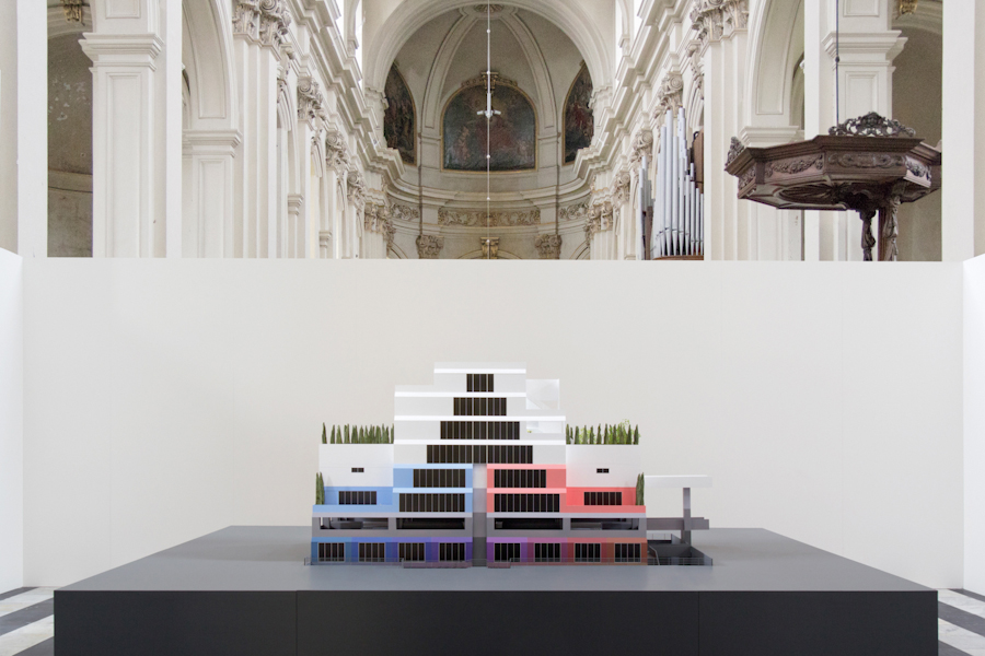 Vertically Integrated Socialism   (Bruges Triennial) 2015. Model [Scale 1:25]
