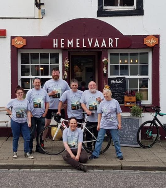 HEMELVAART |  AYTON       https://www.hemelvaart.co.uk/     One of our favourite spots in Scotland. Great beer selection and top people!