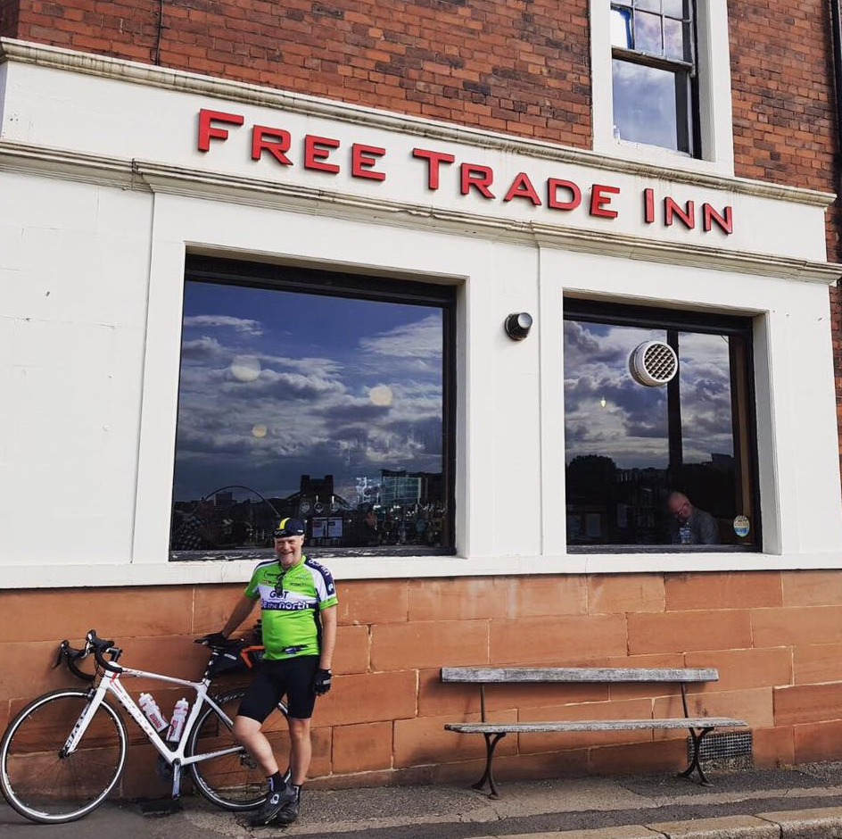 FREE TRADE INN |  NEWCASTLE     https://www.facebook.com/TheFreeTradeInn     One of Newcastle's oldest and best loved real and craft ale pubs. Super cosy and friendly atmosphere...our go-to spot when we're in toon! They have a lovely beer garden to enjoy a few cold ones on a summers evening.