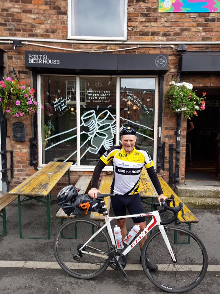 Day 9 - Carlisle - Manchester. One day to go, but it feels like the end already! Just as my body has gotten used to the routine! Can't wait for tonight at one of my favourite bars, Port Street Beer House in Manchester! I might even have a beer!