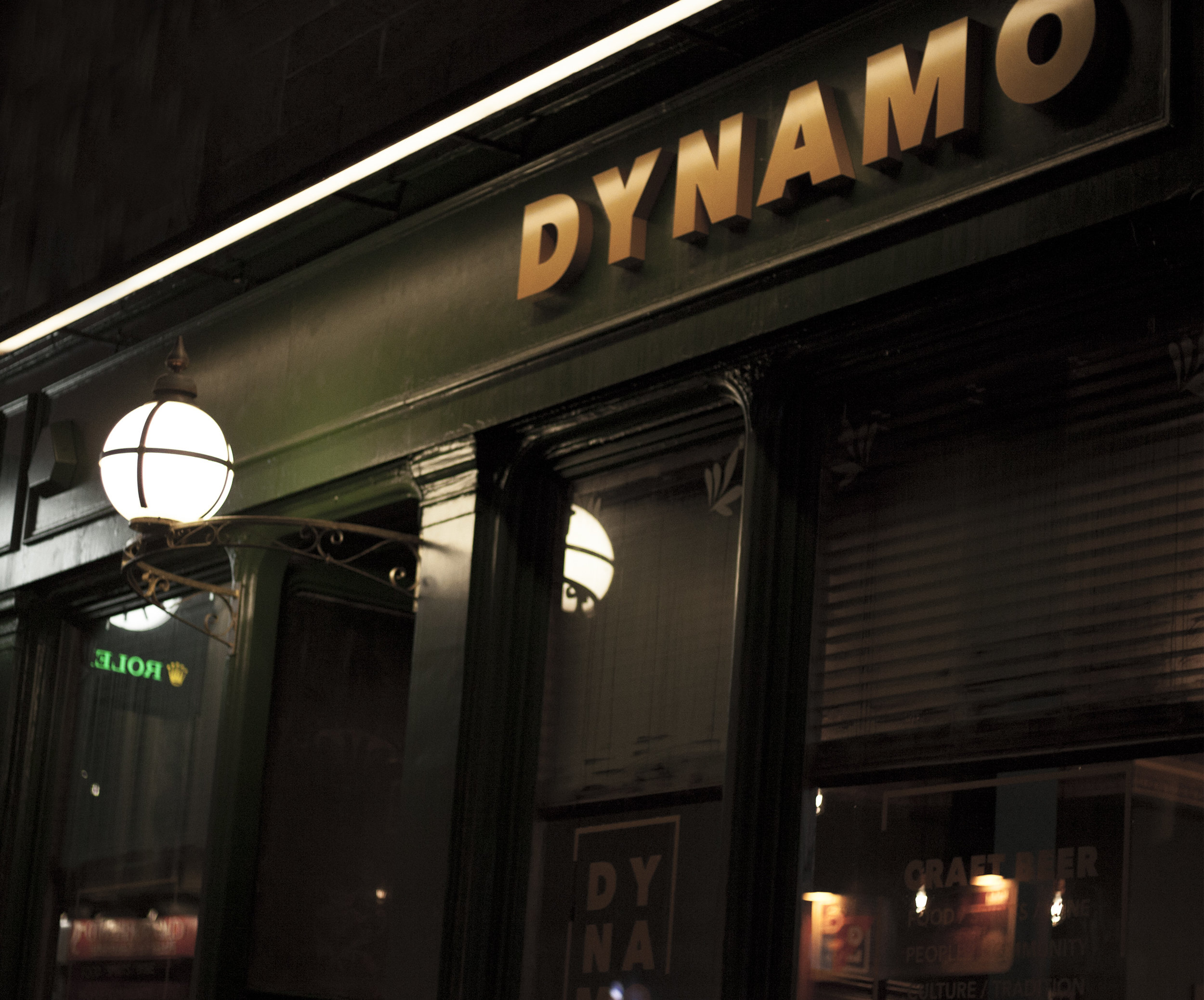 OPENED OUR FIFTH BAR DYNAMO DUNDEE. A CHARMING WEE PLACE IN THE HEART OF THE CITY CENTRE, WITH 24 TAPS POURING BEERS FROM SOME OF THE BEST BREWERS IN THE UK & AFAR. -