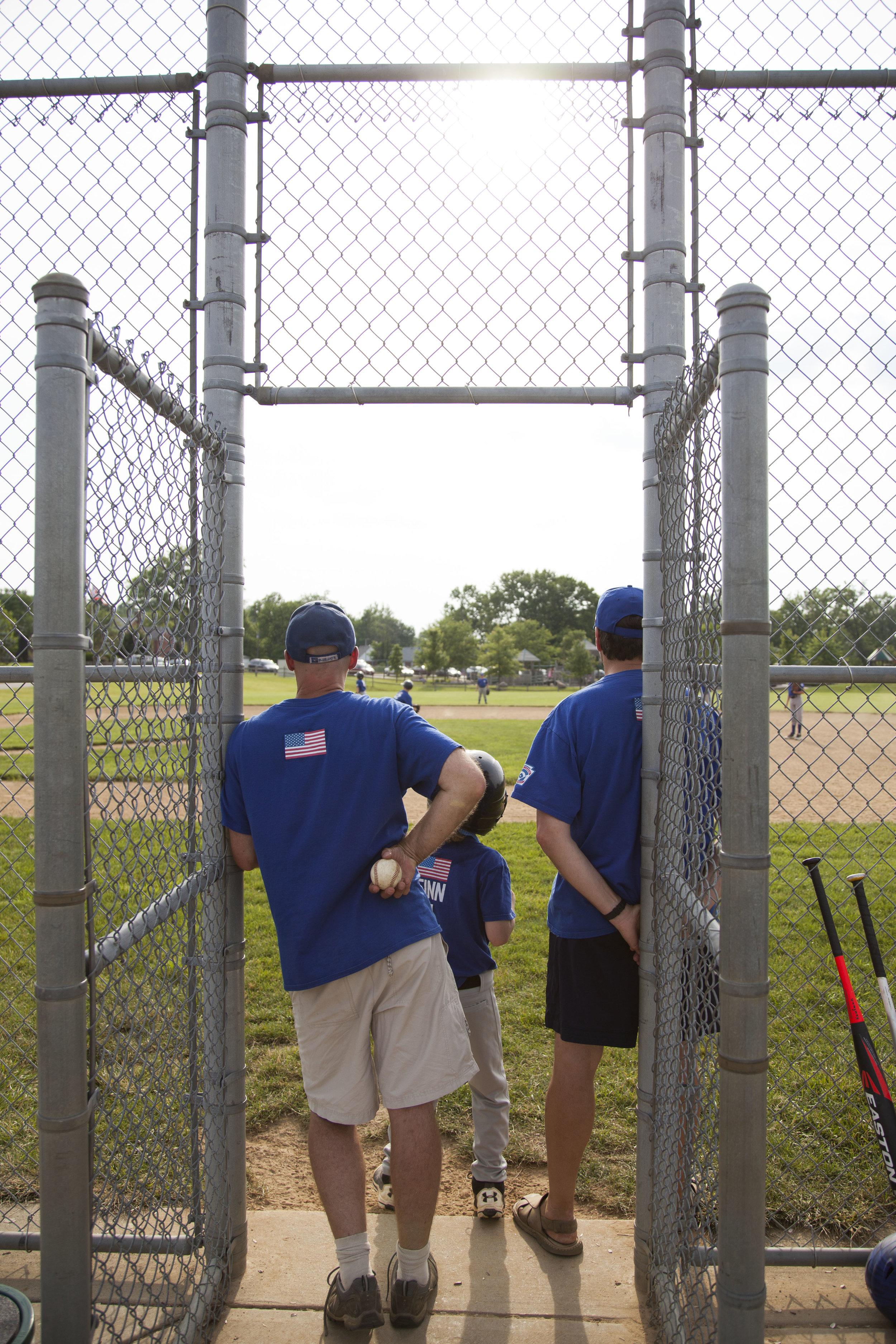 Day 7 - coaching baseball