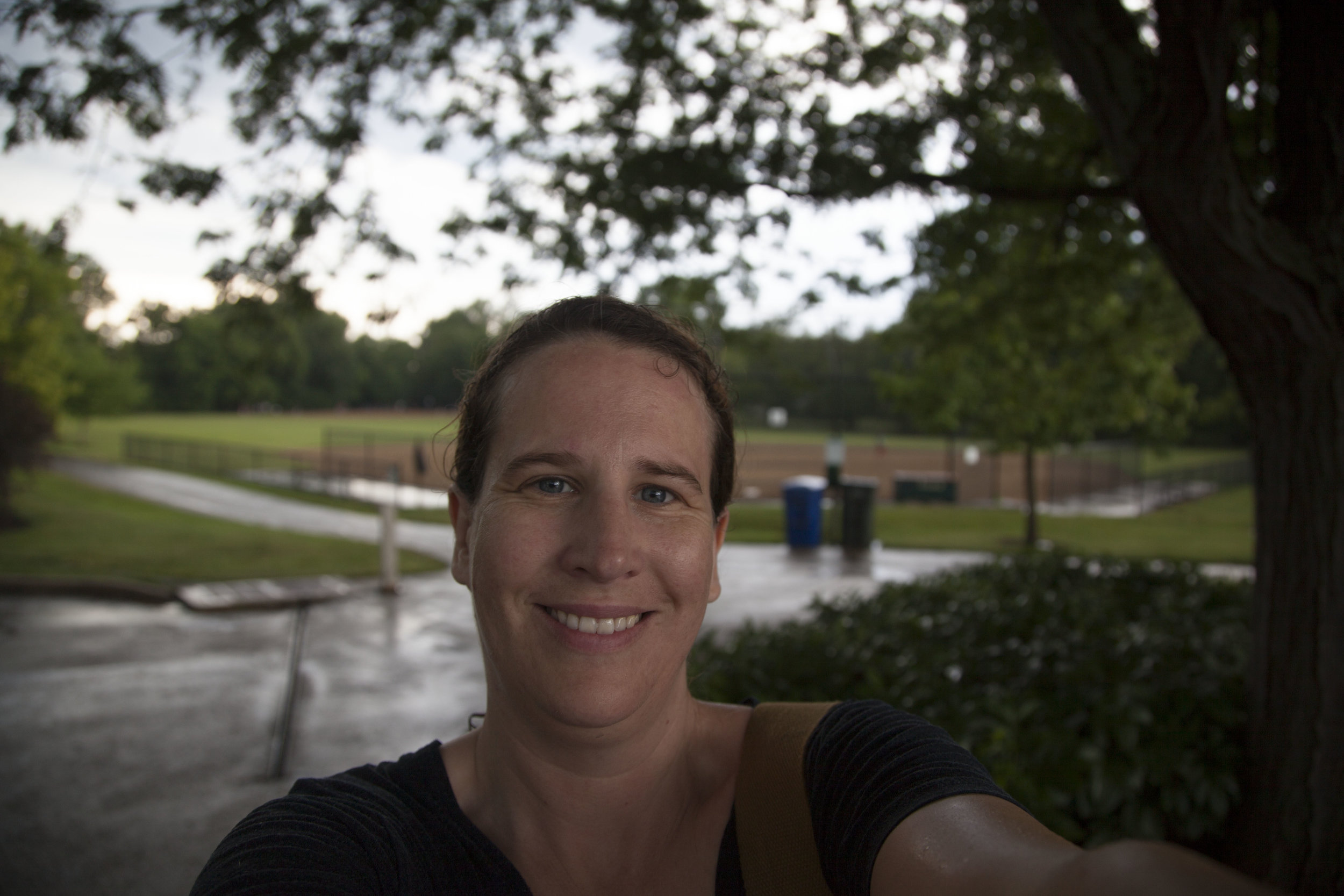 Day 24 - I played baseball in the rain