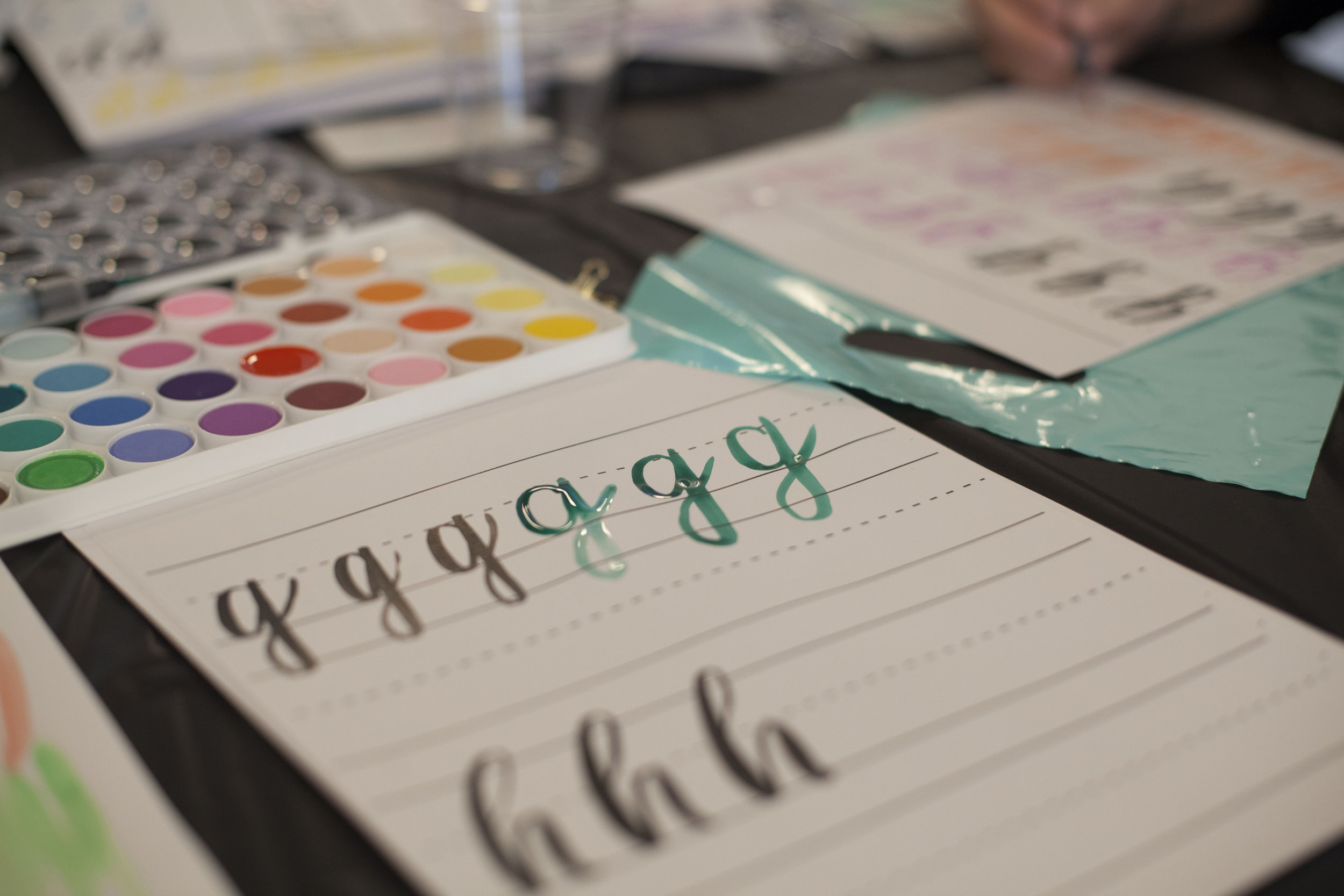 Day 62 - Calligraphy Workshop