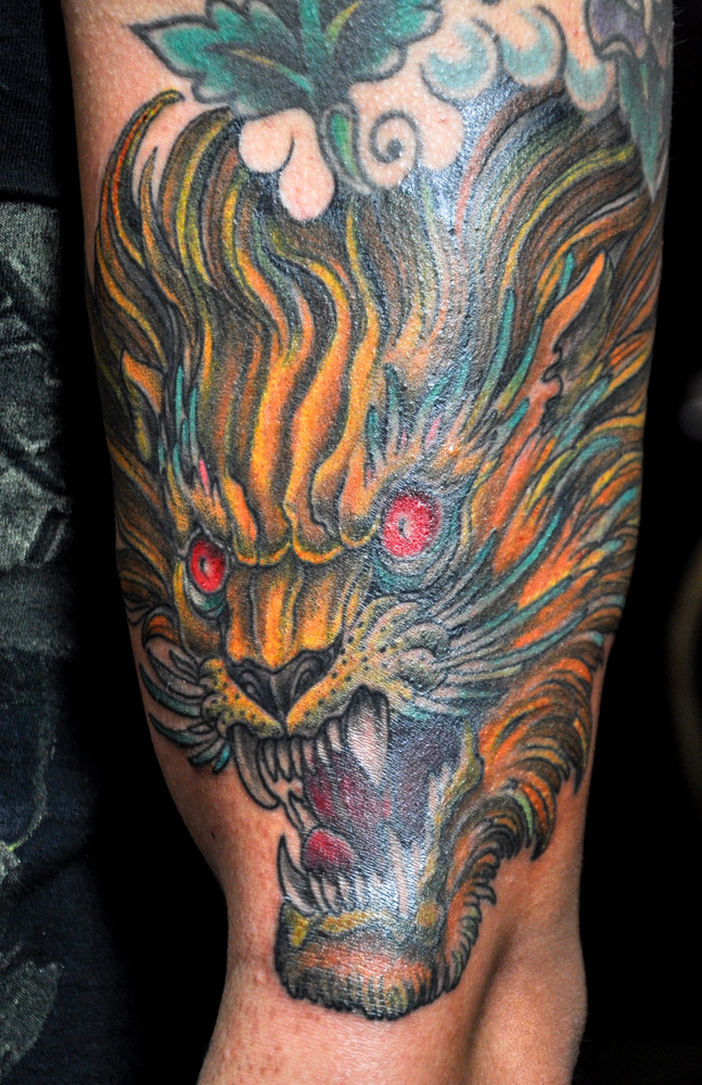 enrique ejay bernal tattoo dallas tx lion head.jpg