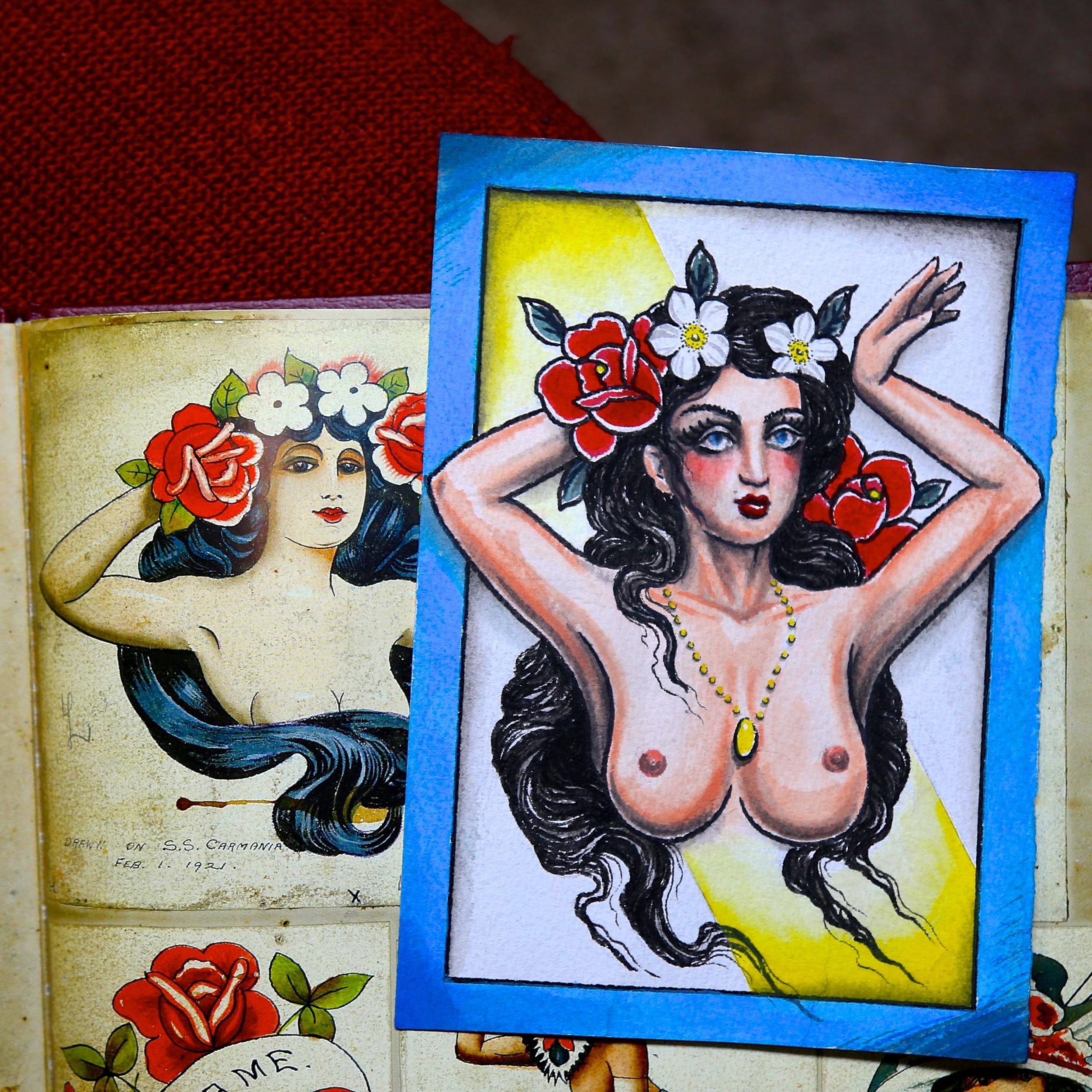 Painting enrique bernal ejay tattoo.JPG