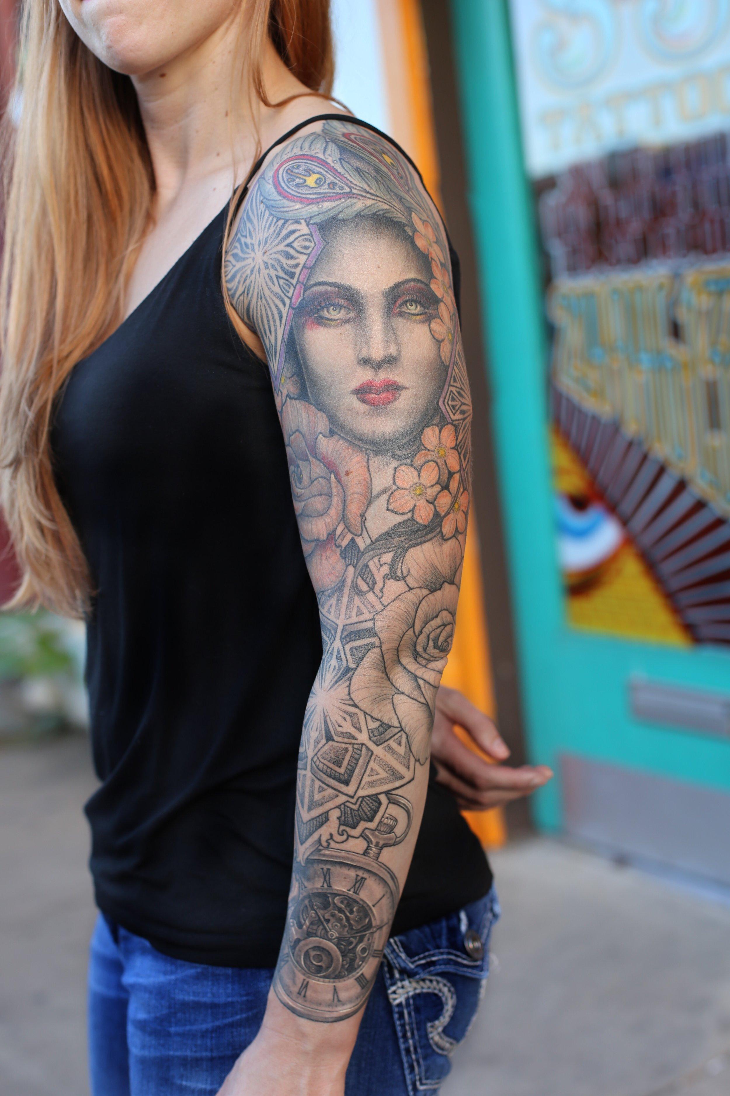 Enrique Ejay Bernal dallas tattoo best sleeve.JPG