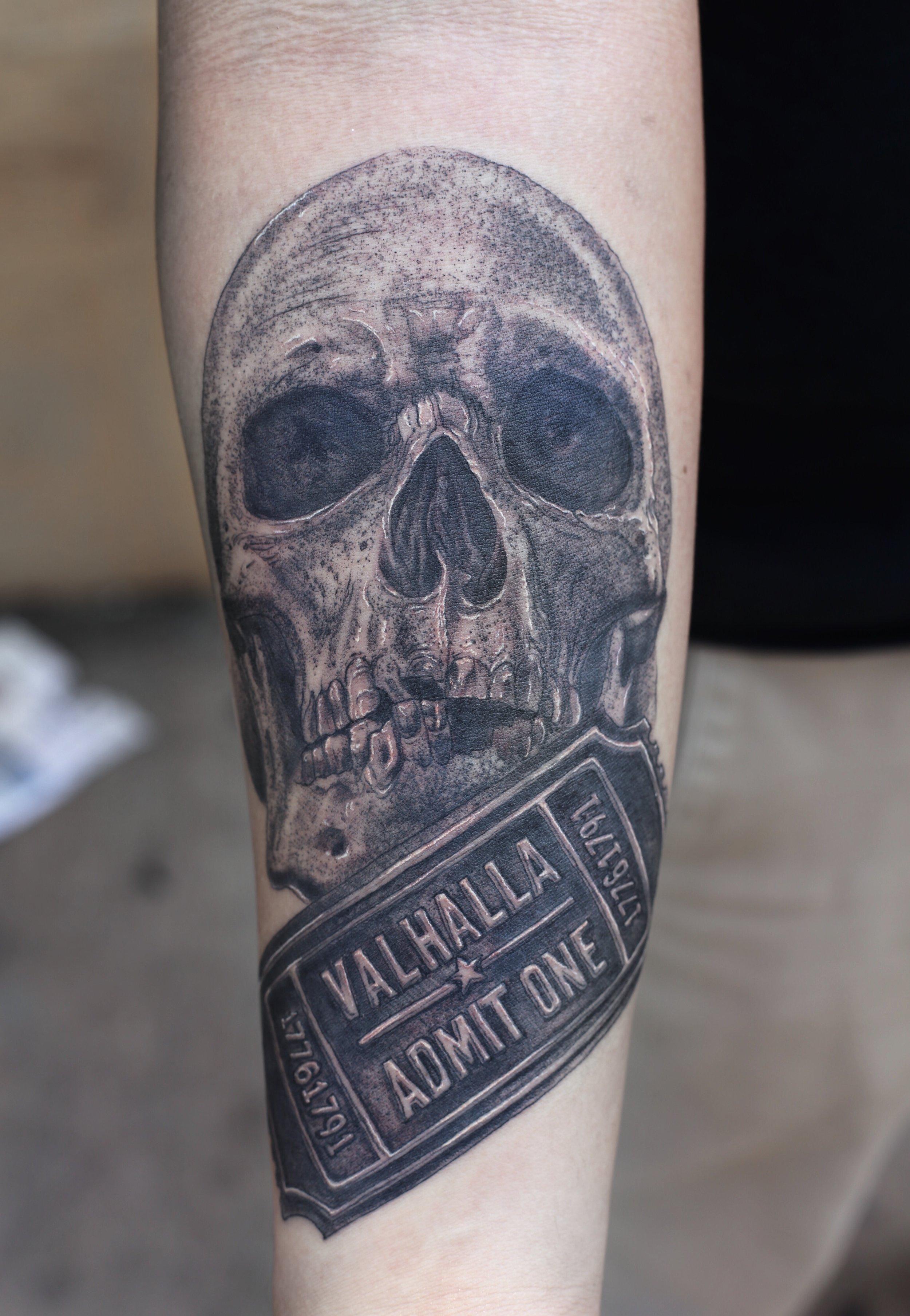 Enrique Ejay Bernal dallas tattoo best RIP blue lives matter.jpg
