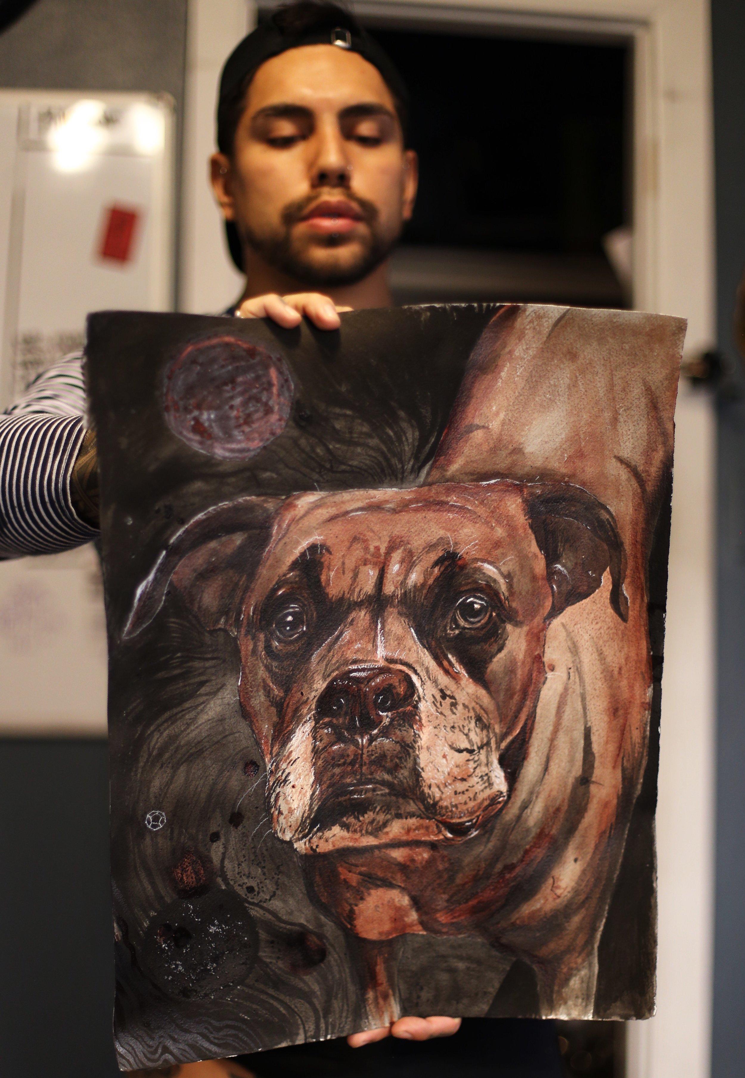 enrique bernal ejay tattoo dallas texas Caleb sena and Marie barnard painting.jpeg