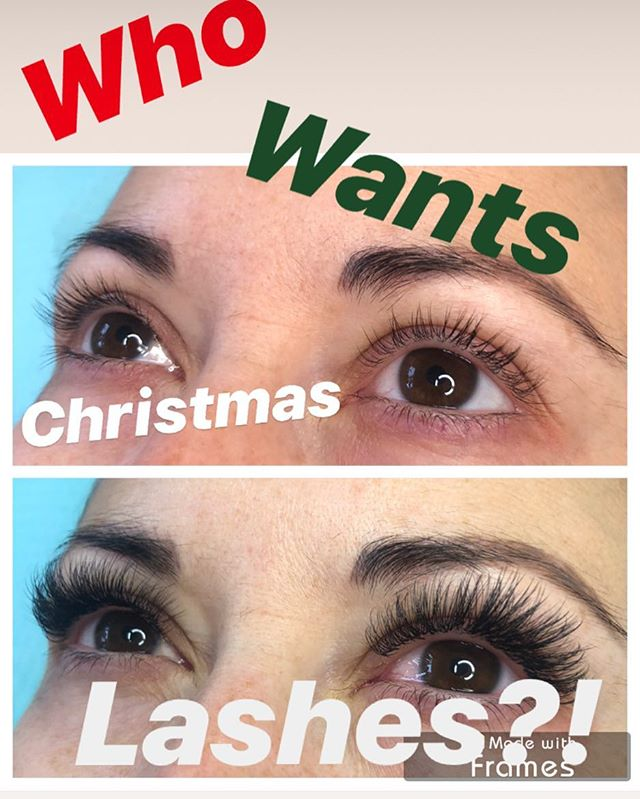 Still have a few spots left before Christmas for lashes ladies! Msg me ASAP to grab one 😘 .. . . . . . . #volumelashes #lashextensions #volumelashextensions #volumelashesyyc #yyclashes #yyclashextensions #calgarylashes #calgarylashextensions #calgaryeyelashextensions #russianvolume #fluff #lashes #eyelashes #PMU #eyes #momtrapreneur #bosslady #yyc #yycliving #yyclife #calgary