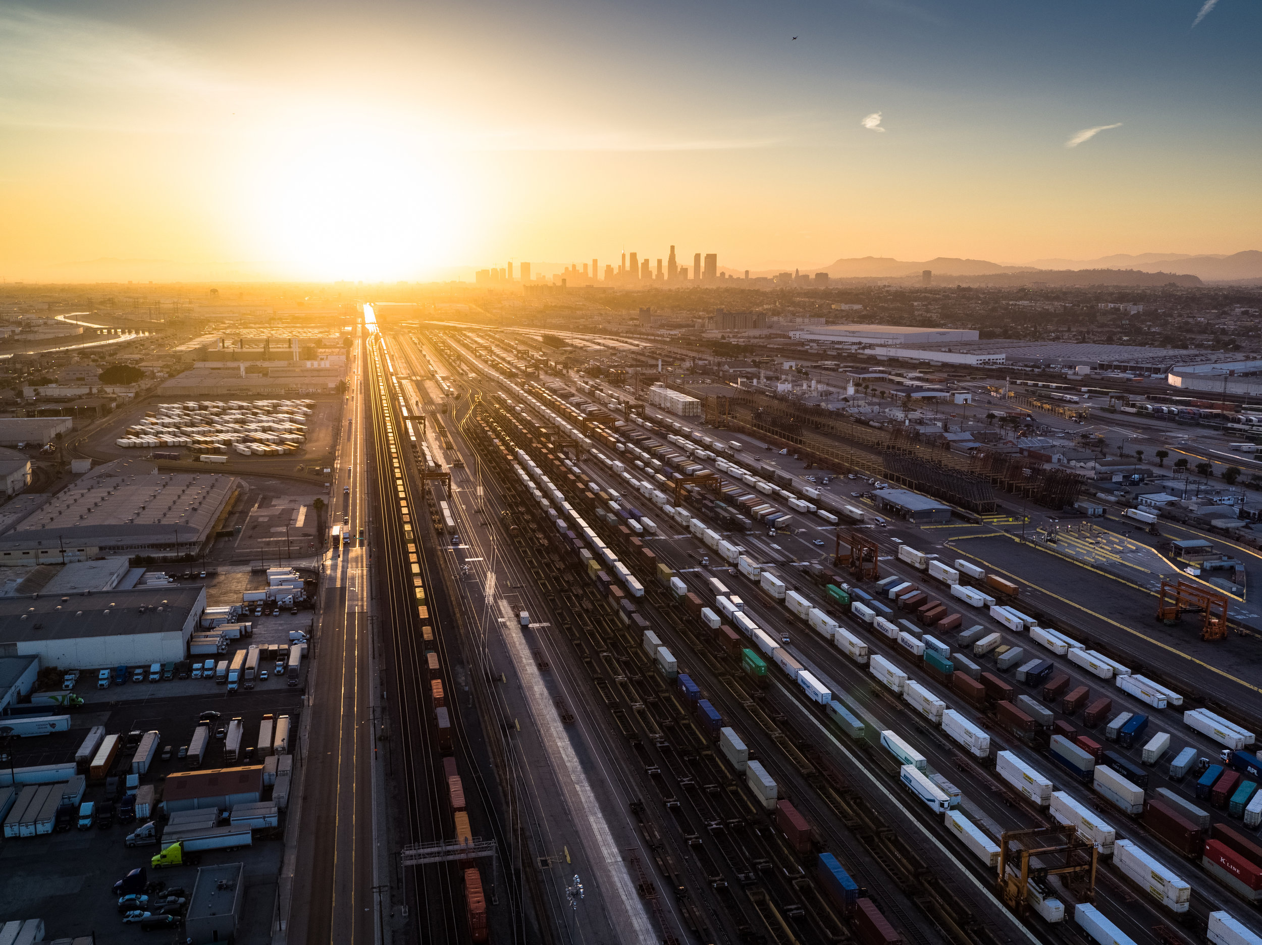 Los Angeles - LA is a transportation hub that has a vast network of railways that can be used for intermodal hauling. The area is also home to a lot of manufacturing centers, so there's plenty of loads to deliver coming out of Long Beach, City of Industry and East Los Angeles.