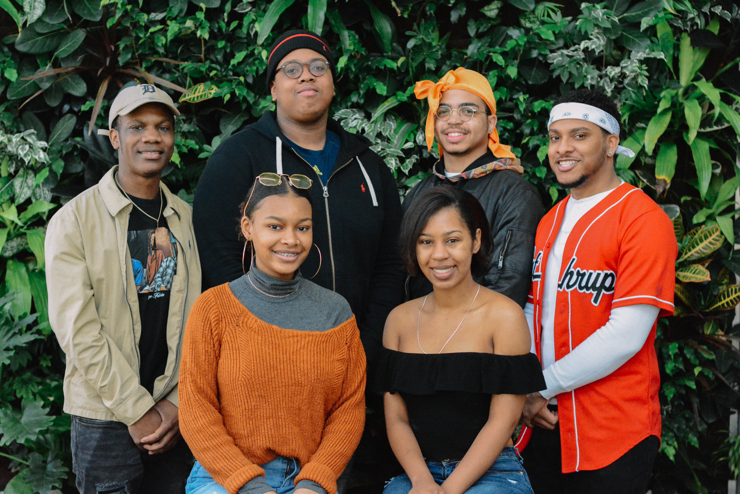 Creatives of Color - A platform to connect minority artists, allowing them to collaborate and showcase their work.CLARENCE WOMACK, JHAWAN DAVIS, TYRONE EDWARDS, DREW METCALF, ASIA GREEN, KENEDI MCCORMICK