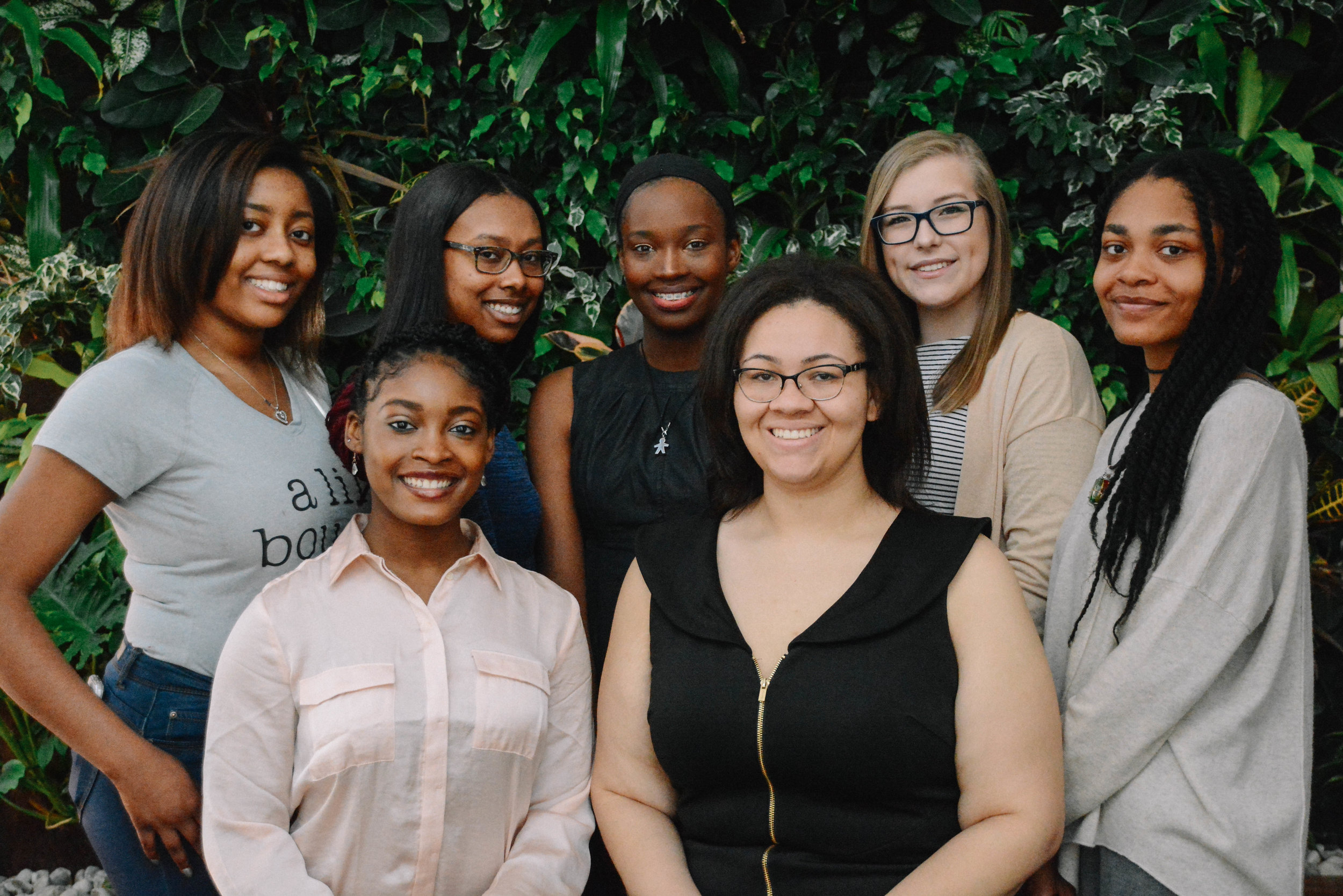 Brains, Beauty, and Benevolence - A student organization empowering women of color to grow personally and professionally through community service and mentorship.ELJONNA WILLIAMS, DAIJHA MORROW, RUBY SIMS