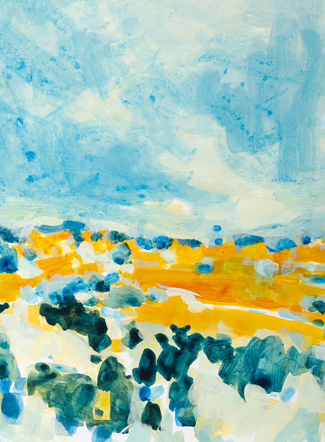"""Blue Sky"" by Dolores Justus (c)2015"